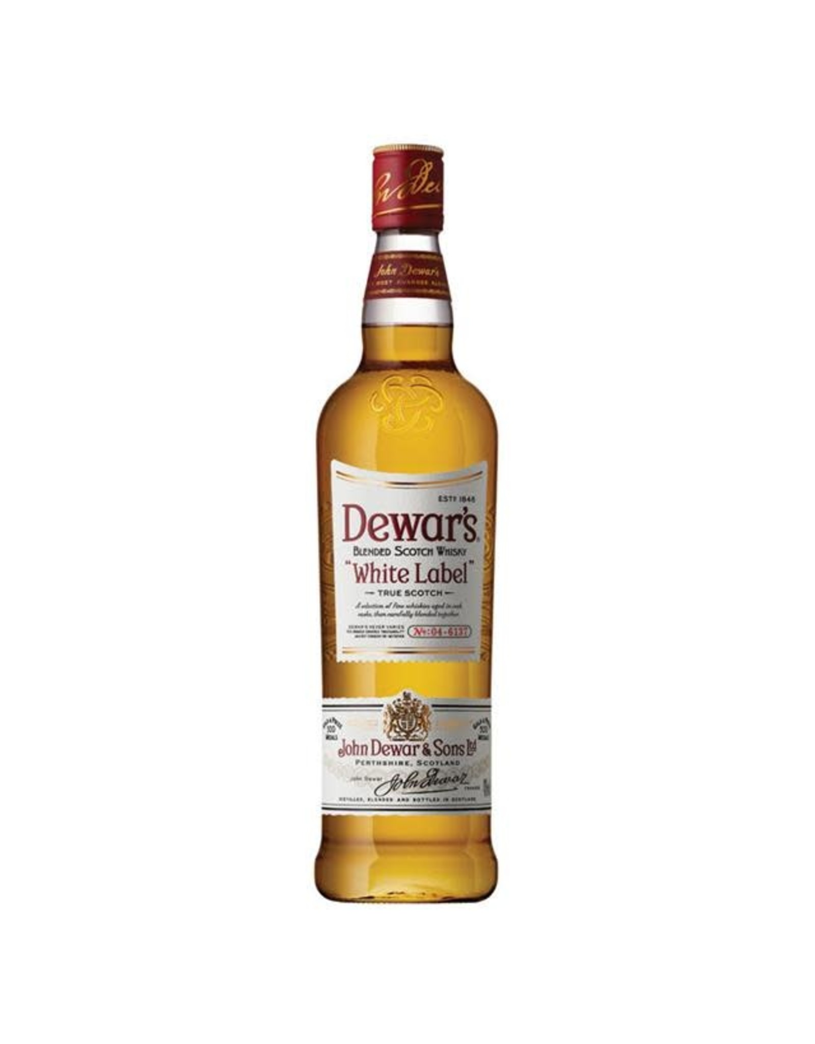DEWARS WHITE LABEL SCOTCH 750ML