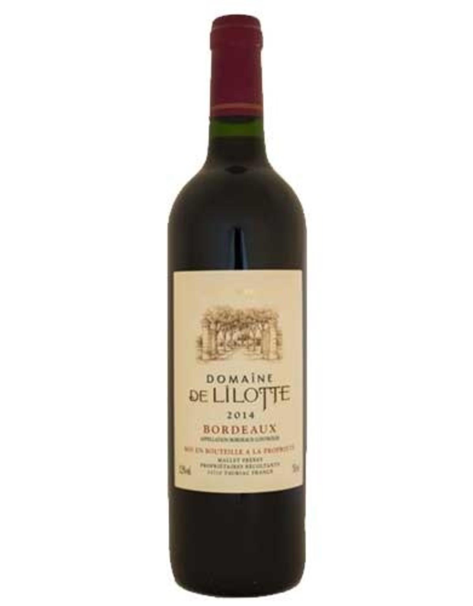 Domaine De Lilotte 2014 Bordeaux