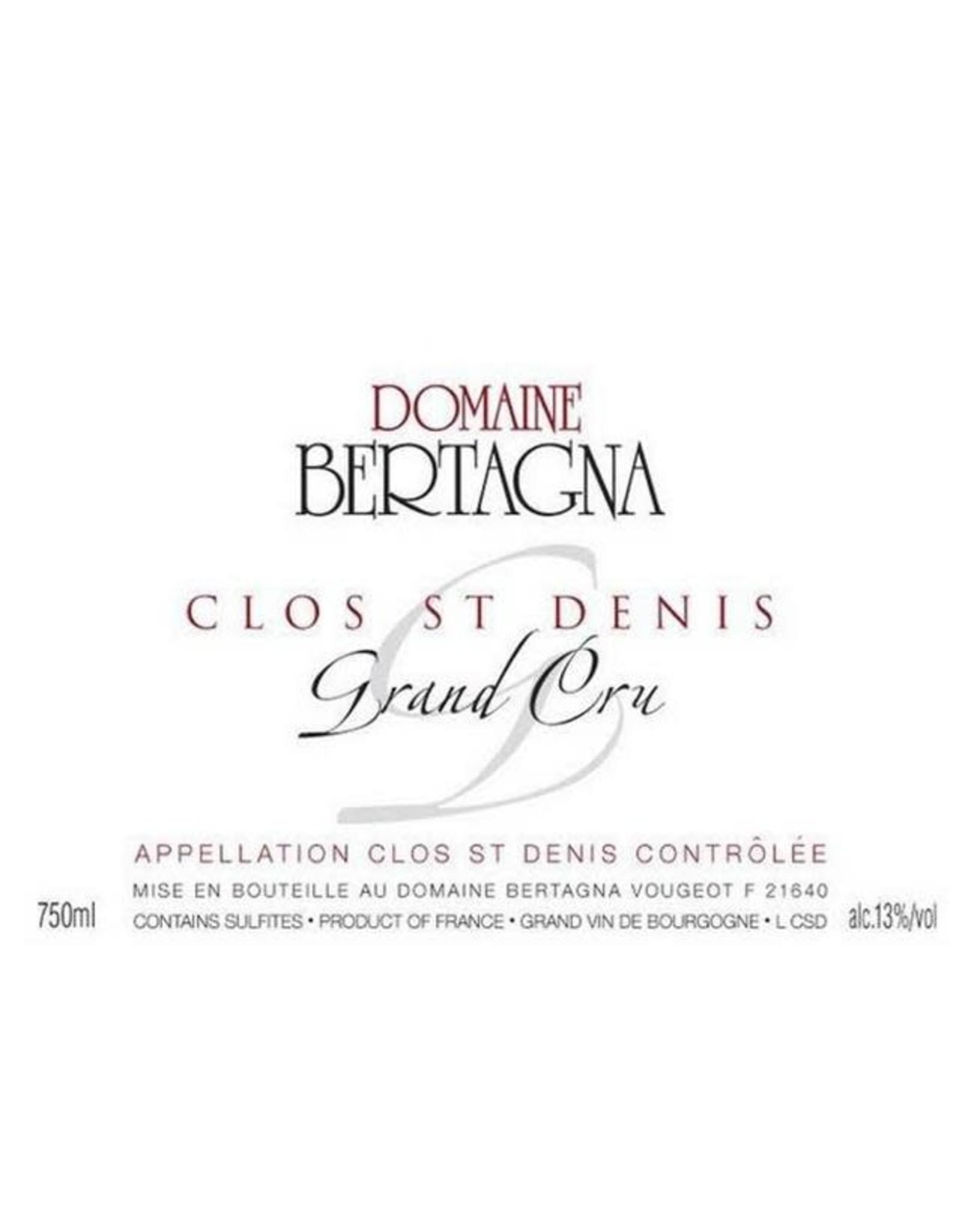 DOMANIN BERTAGNA CLOS SAINT DENIS 2006 750ML