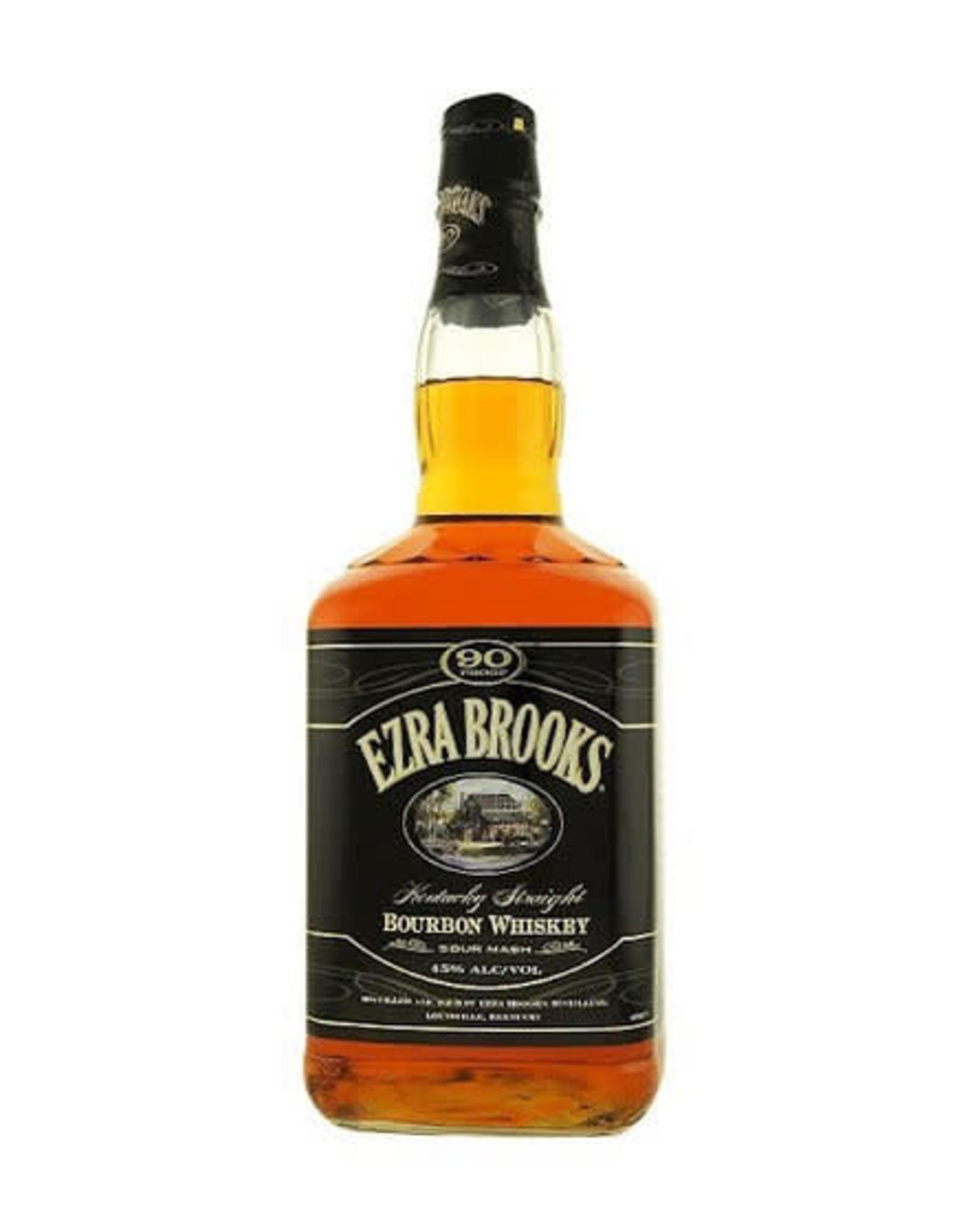 EZRA BROOKS 90 BOURBON 1.75L