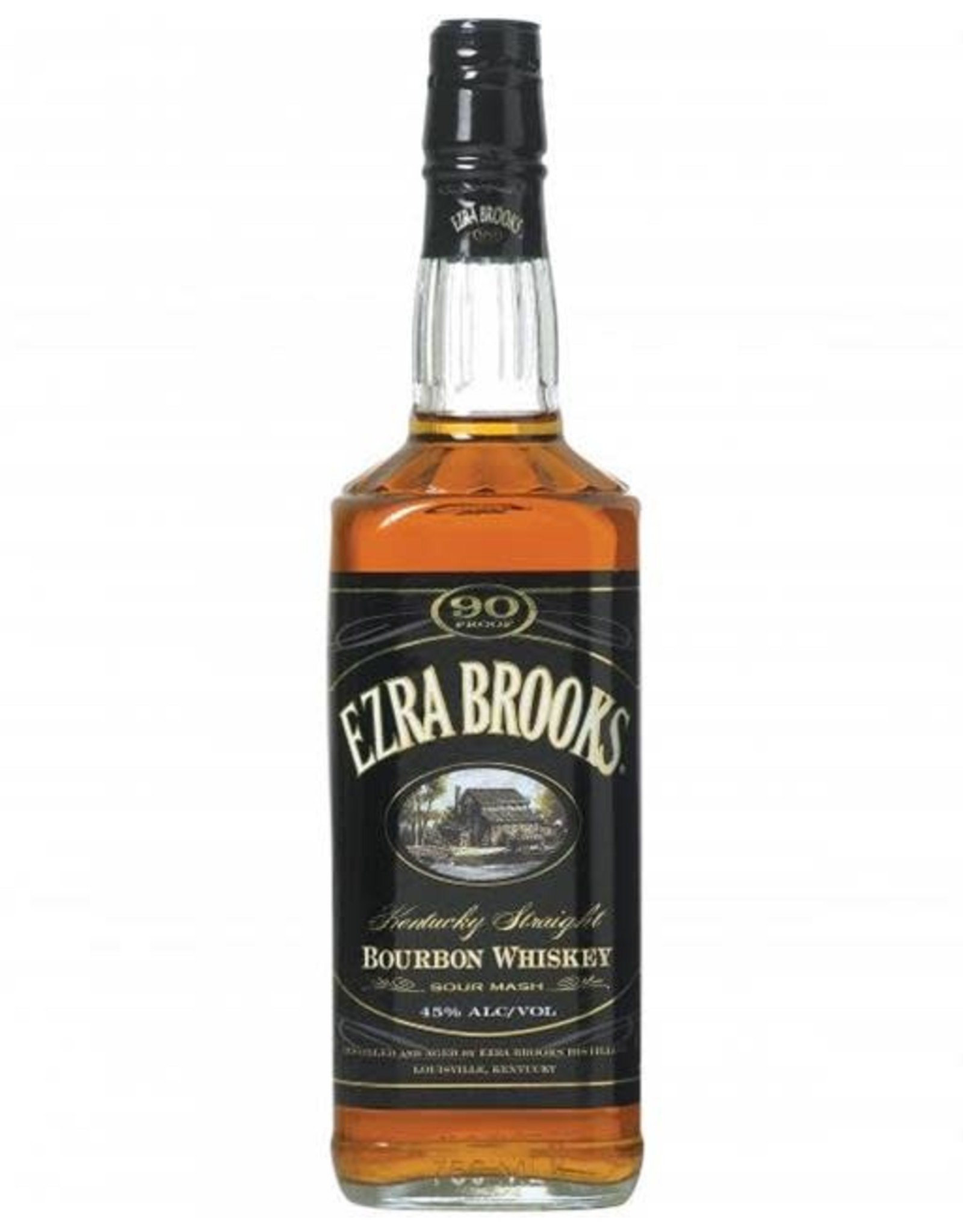 EZRA BROOKS 90 KENTUCKY BOURBON 750ML