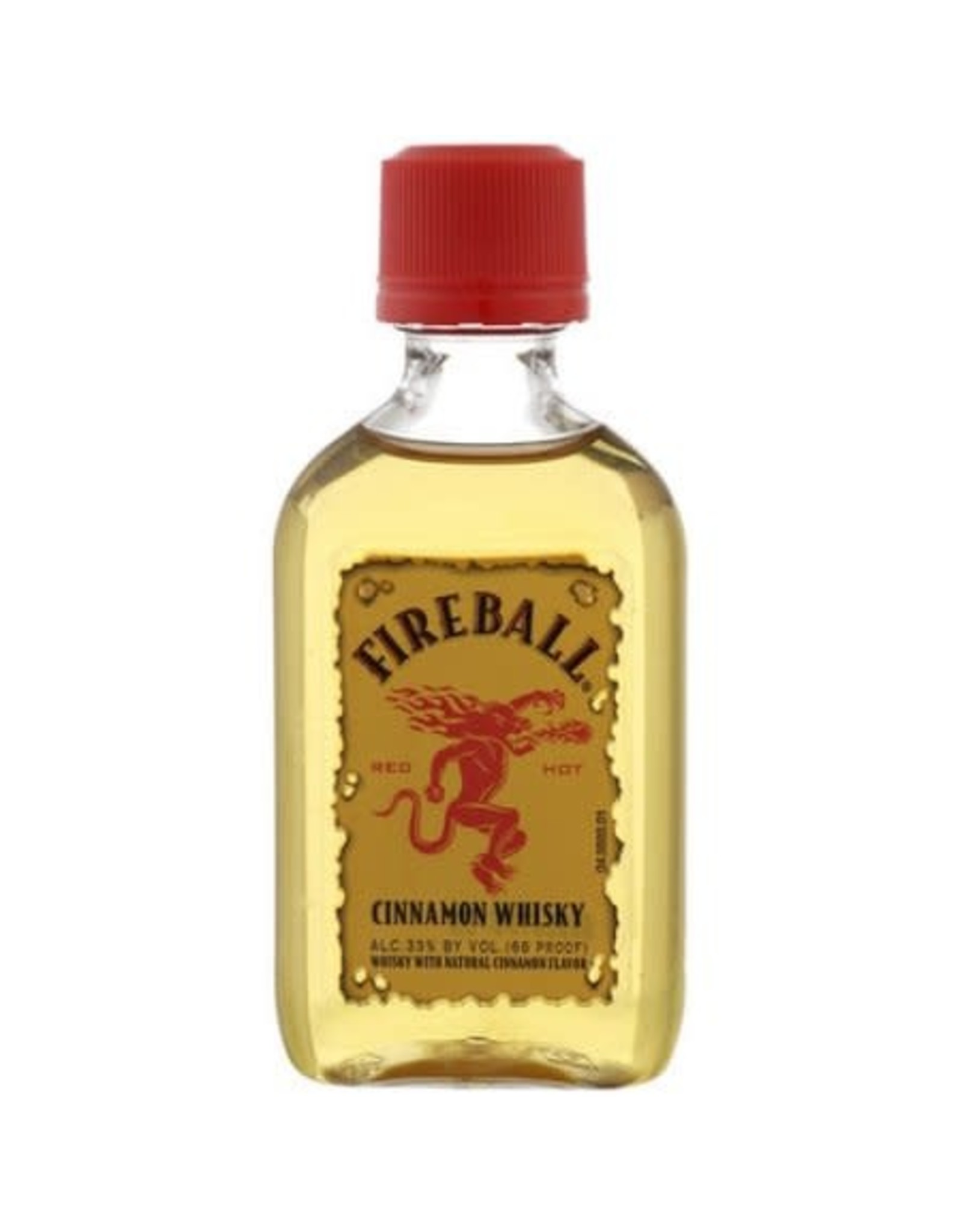 FIREBALL CINNAMON WHISKEY 50ML