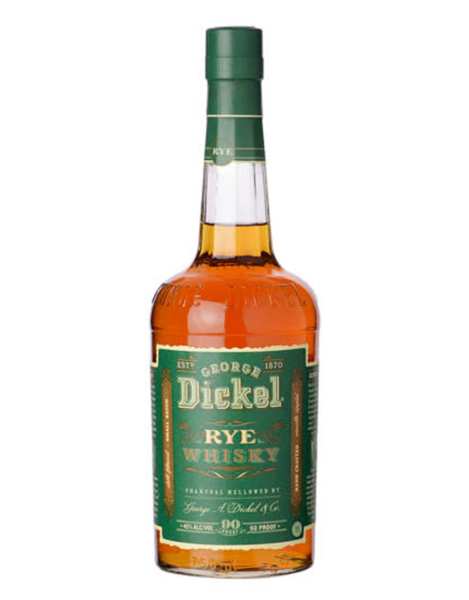 GEORGE DICKEL RYE WHISKEY 750ML