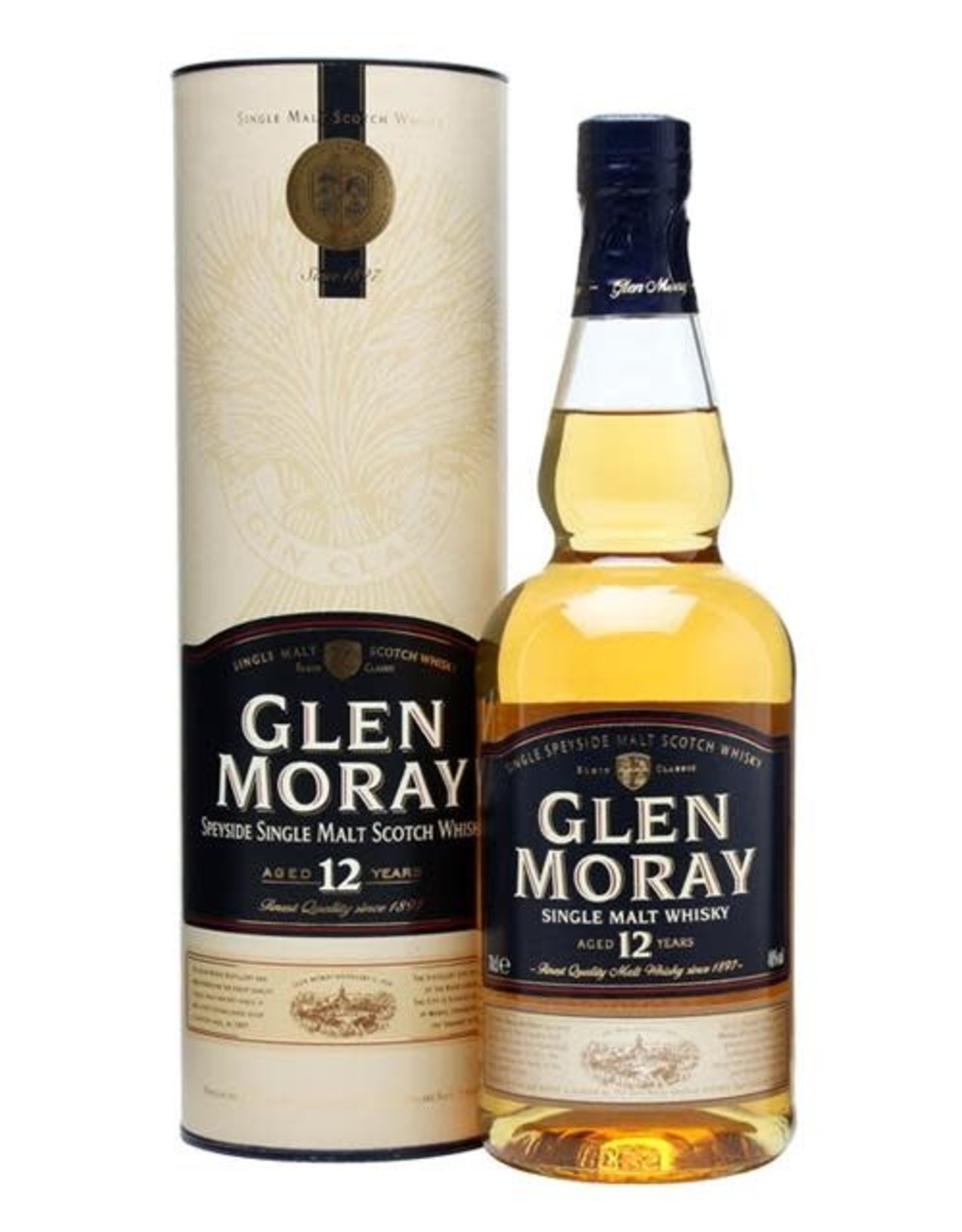 GLEN MORAY 12YR SINGLE MALT 750ML