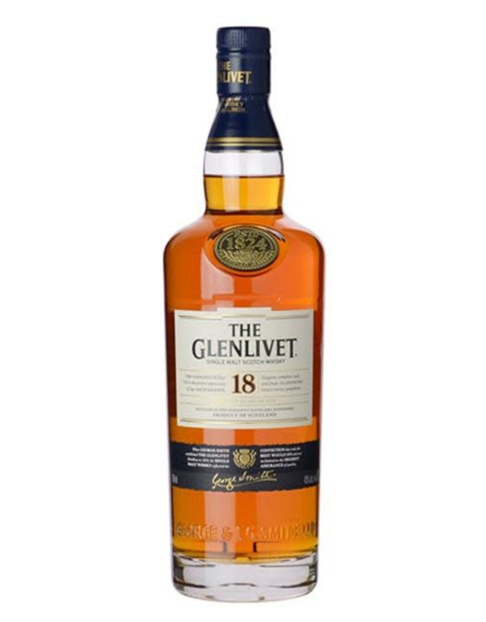 GLENLIVET 18 YEAR 750ML