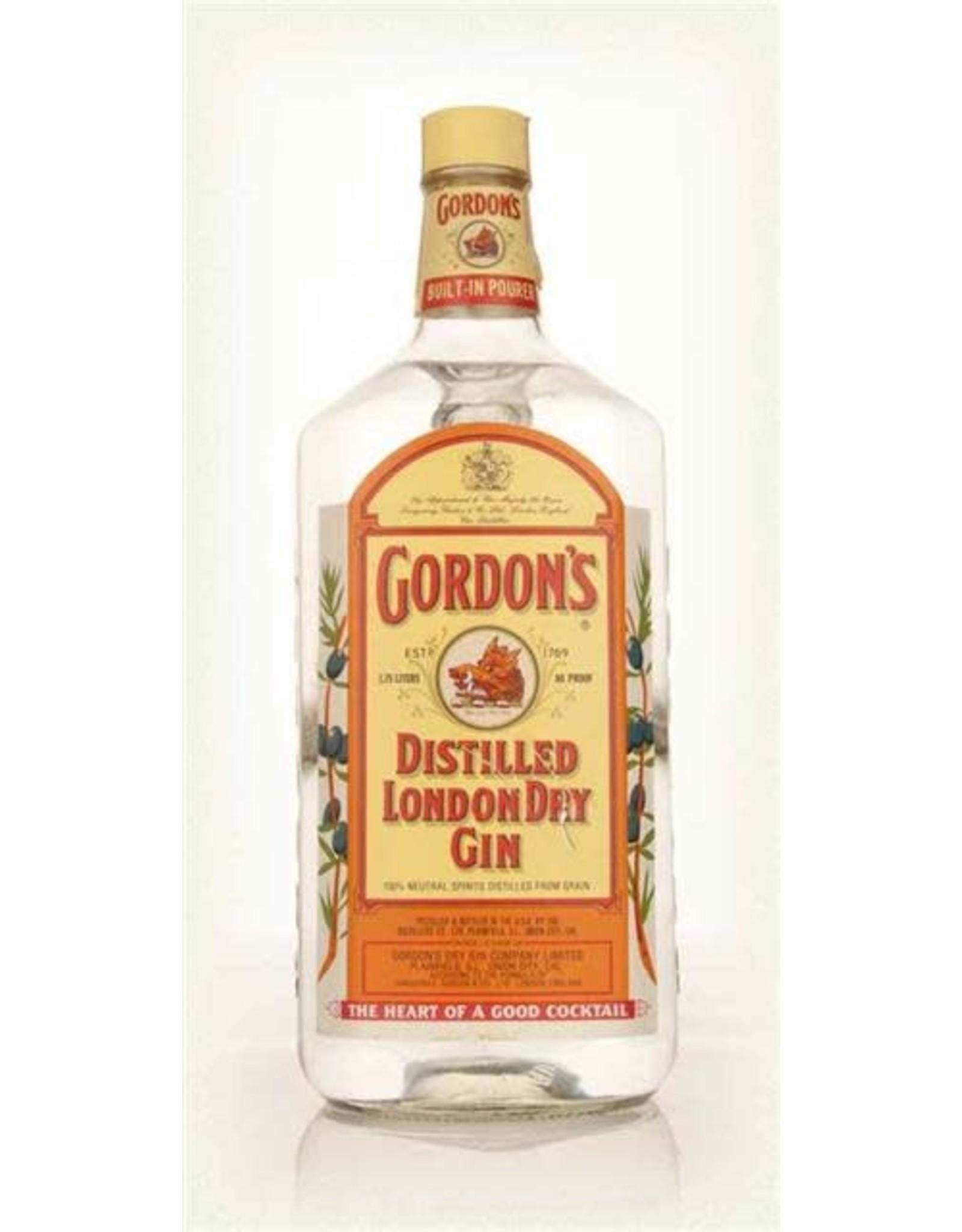 GORDONS LONDON DRY GIN 1.75L