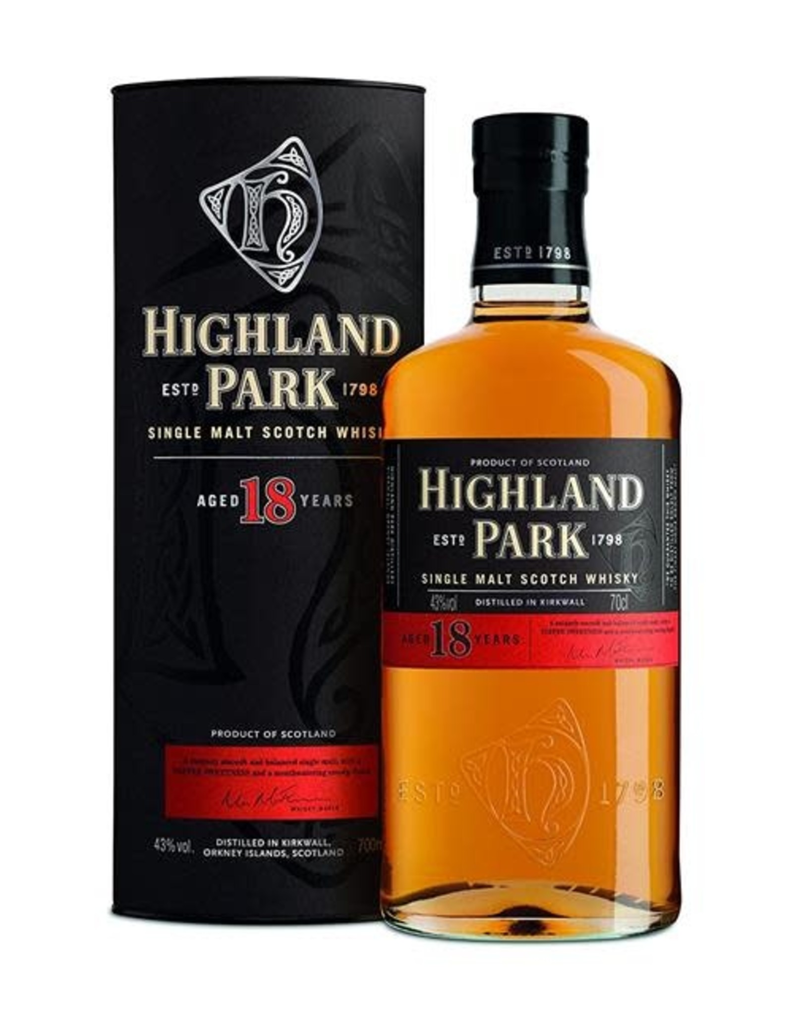 HIGHLAND PARK 18YR SCOTCH 750ML