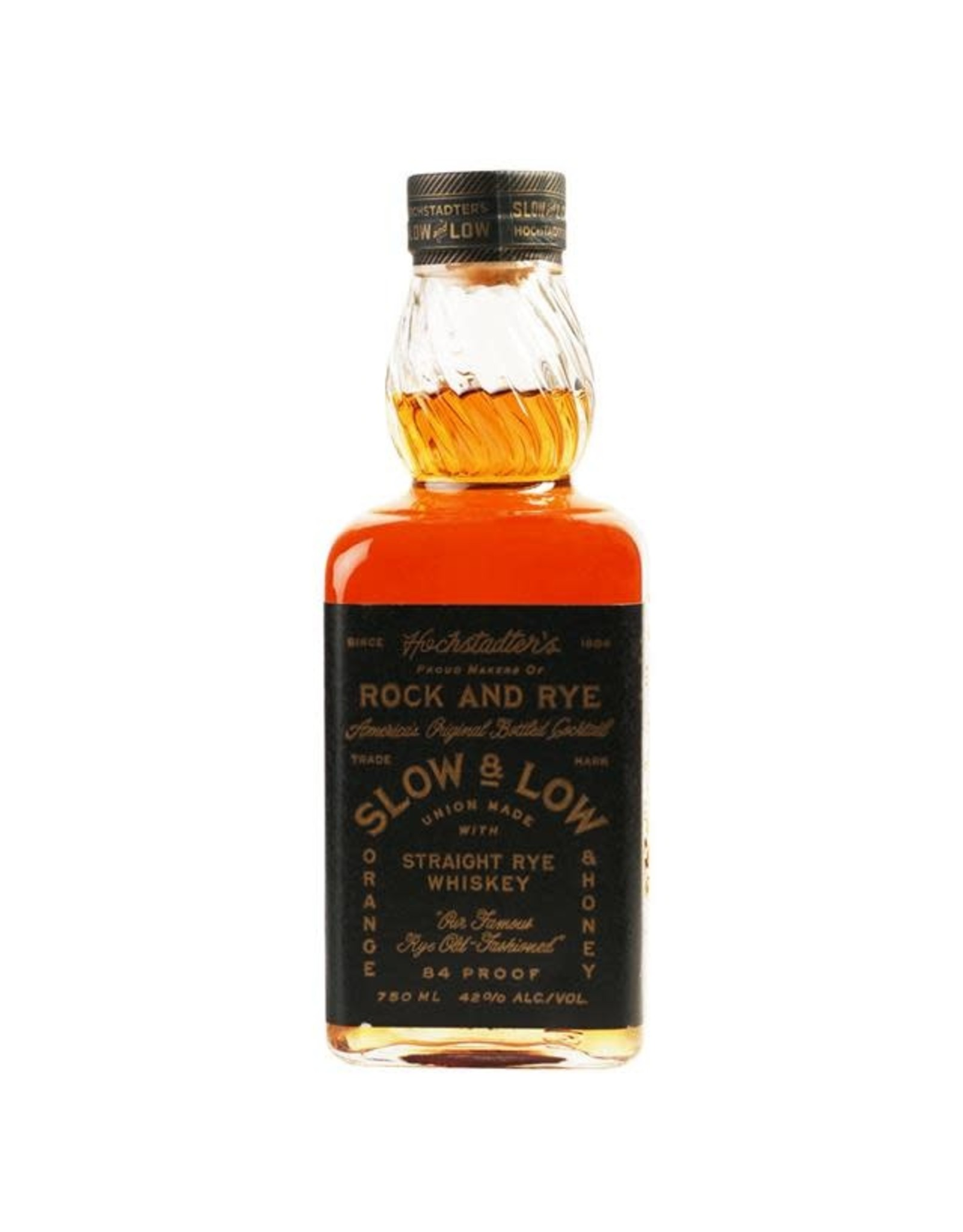 HOCHSTADTERS SLOW AND LOW RYE WHISKEY 750ML