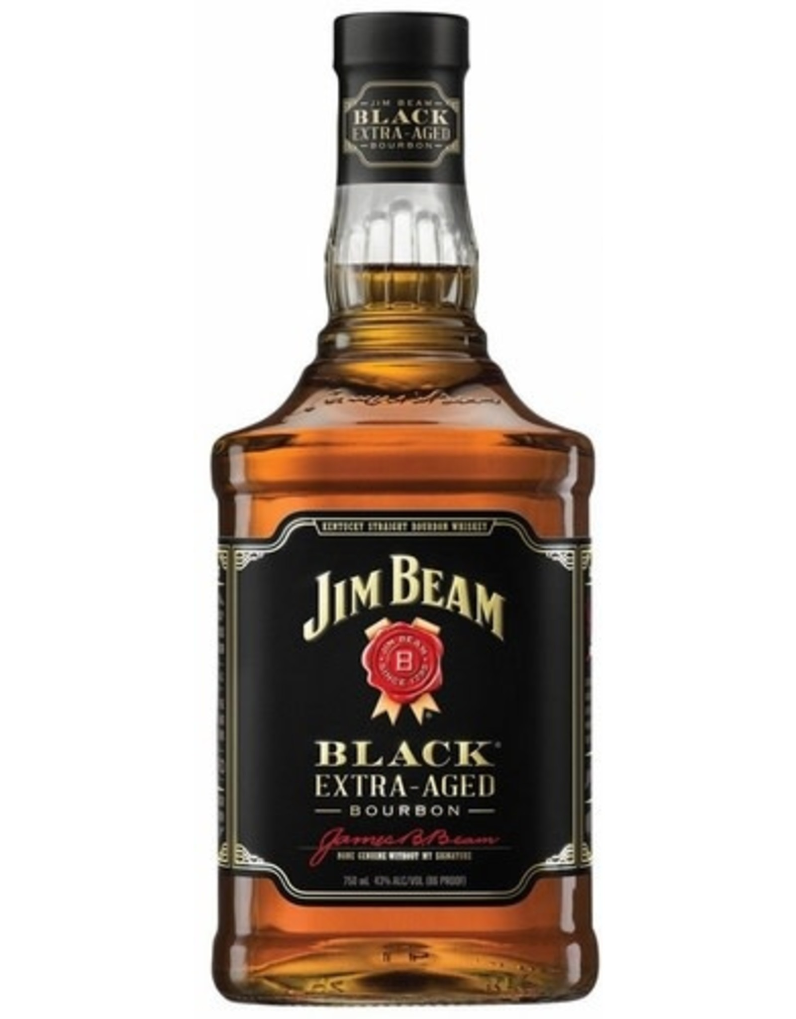 JIM BEAM BLACK KENTUCKY BOURBON 1.75L