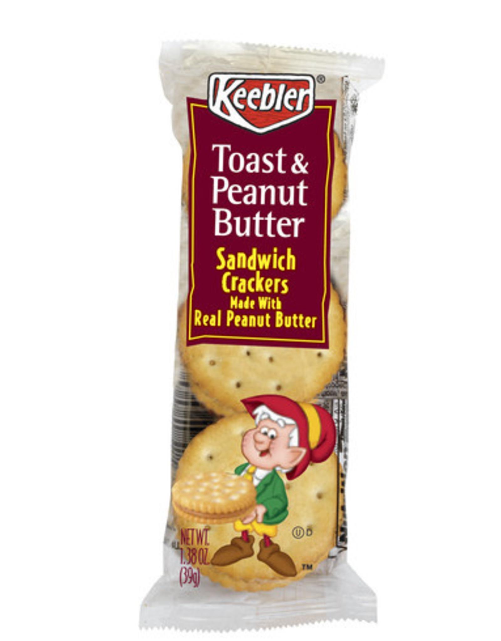 Keebler peanut butter crackers