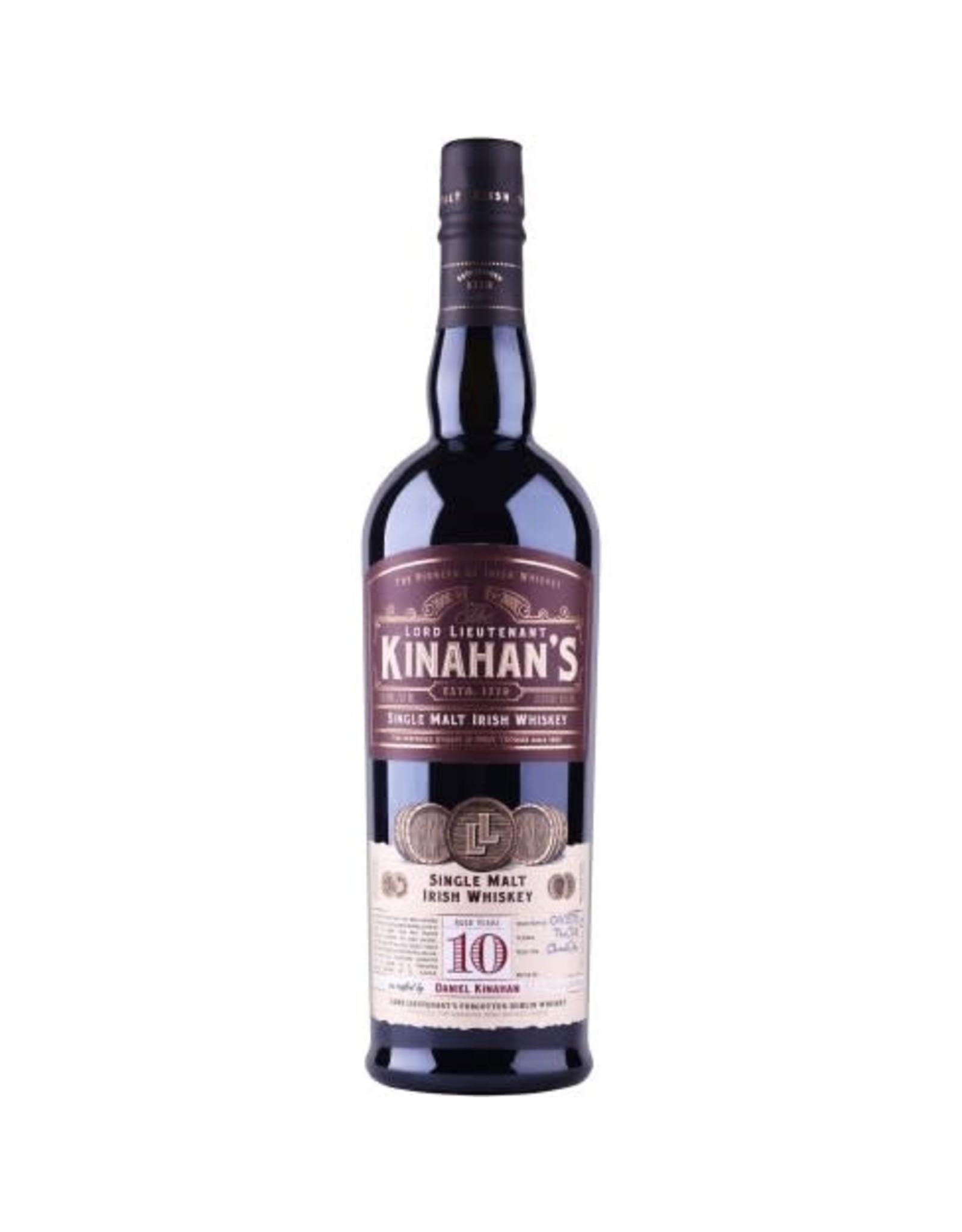 Kinahans Single Malt 10yr 750ml