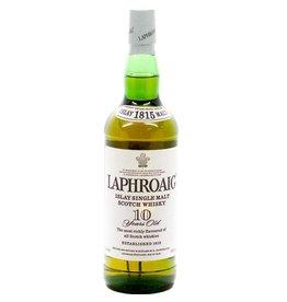LAPHROAIG 10YR SCOTCH 750ML