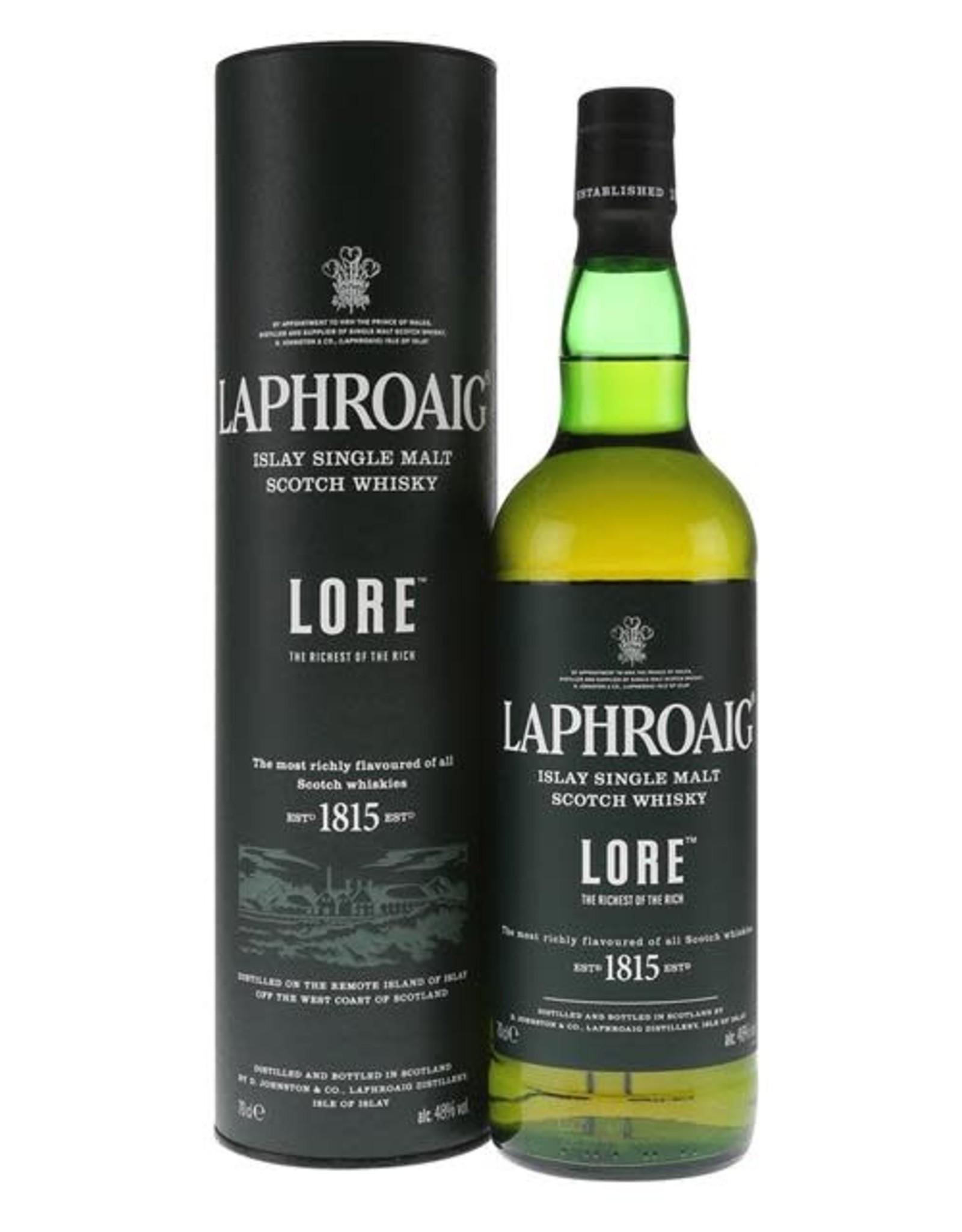 LAPHROAIG LORE 750ML