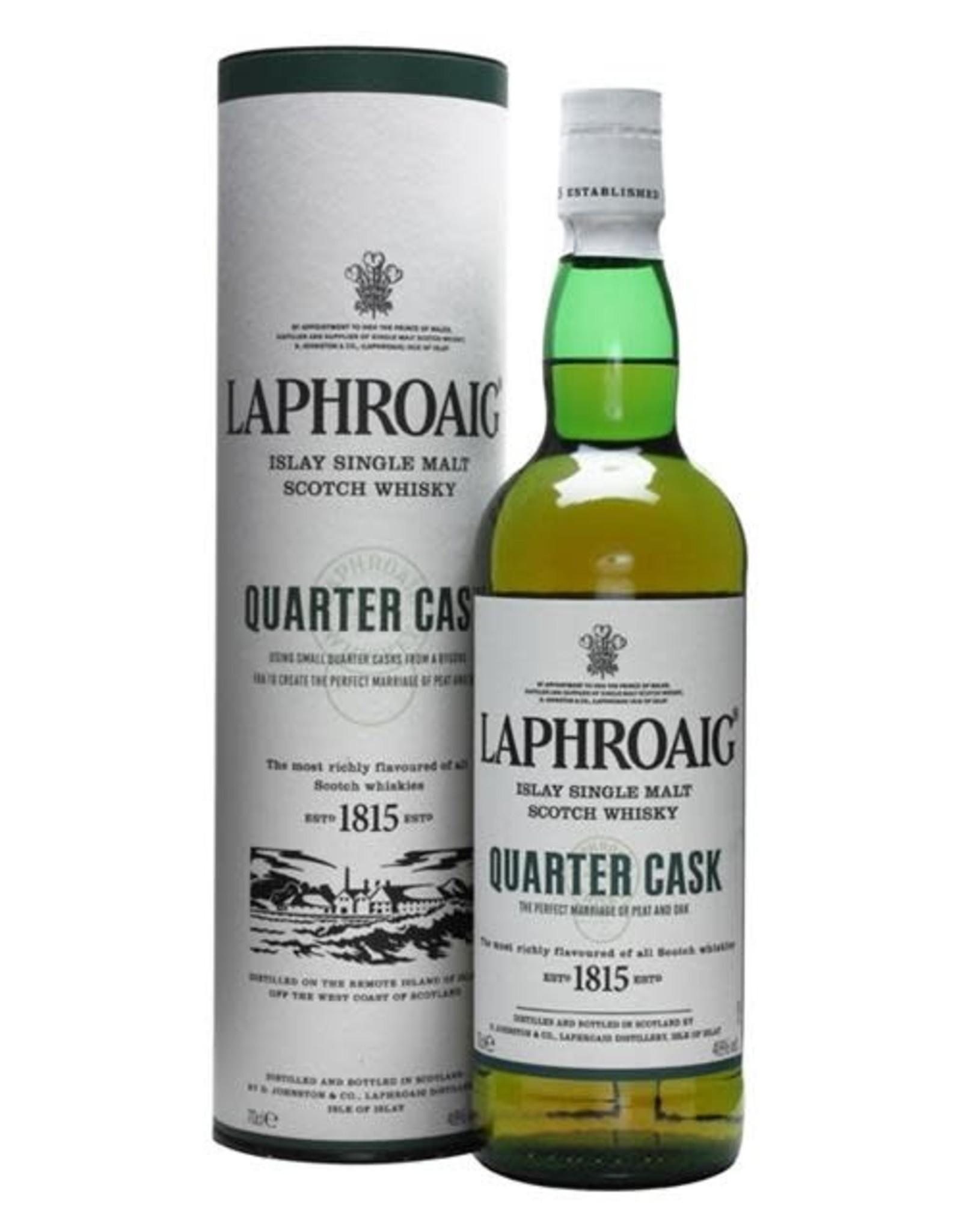 LAPHROAIG QUARTER CASK SCOTCH 750ml