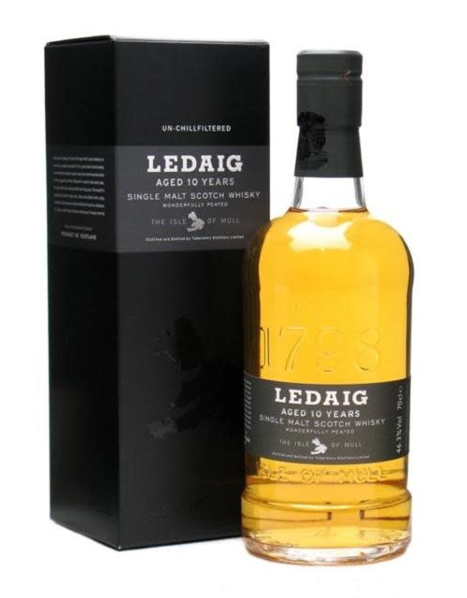 LEDAIG 10YR SCOTCH 750ML