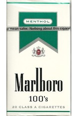 MARLBORO MENTHOL SILVER 100'S