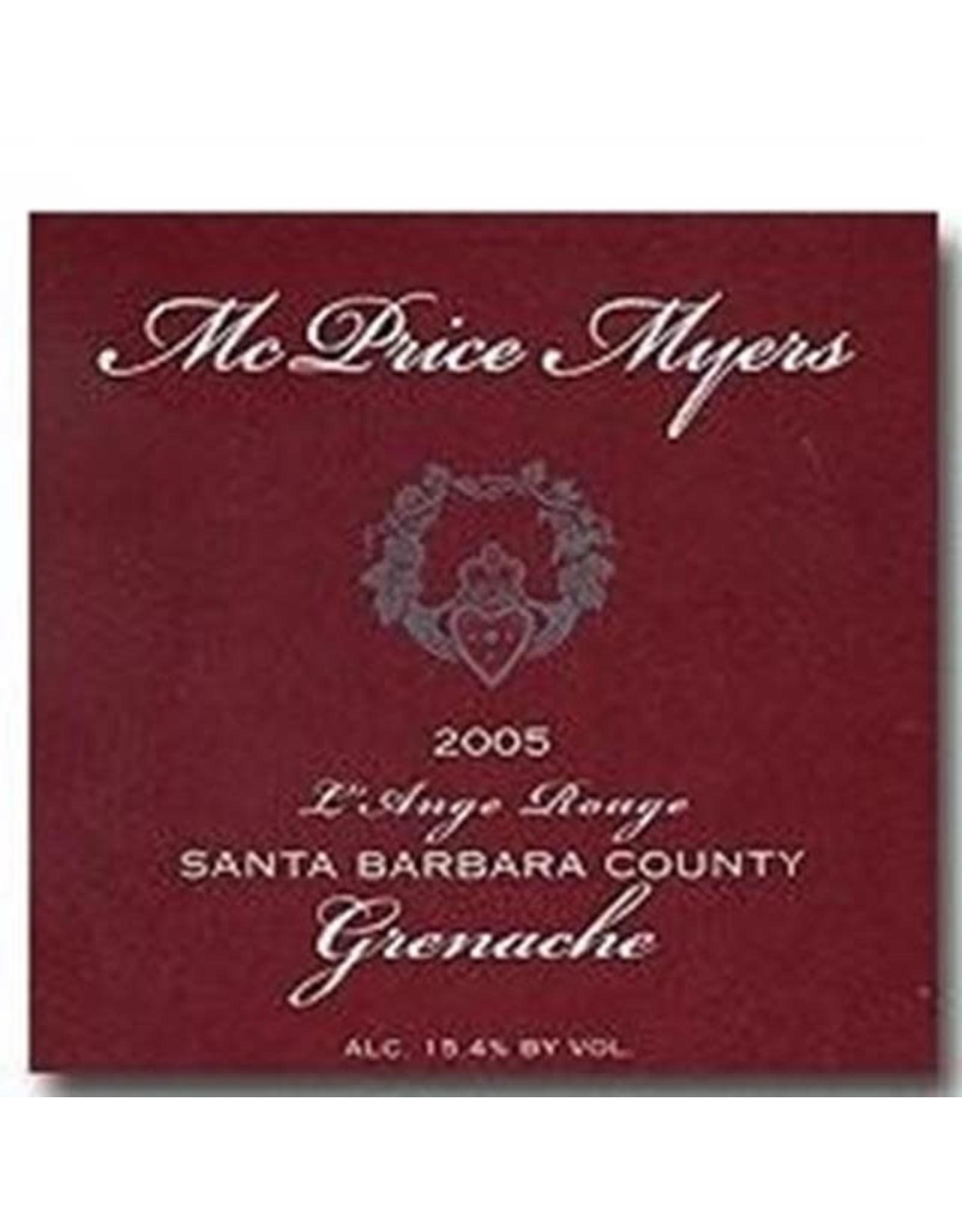 MCPRICE MYERS 2007 GRENACHE 750ML