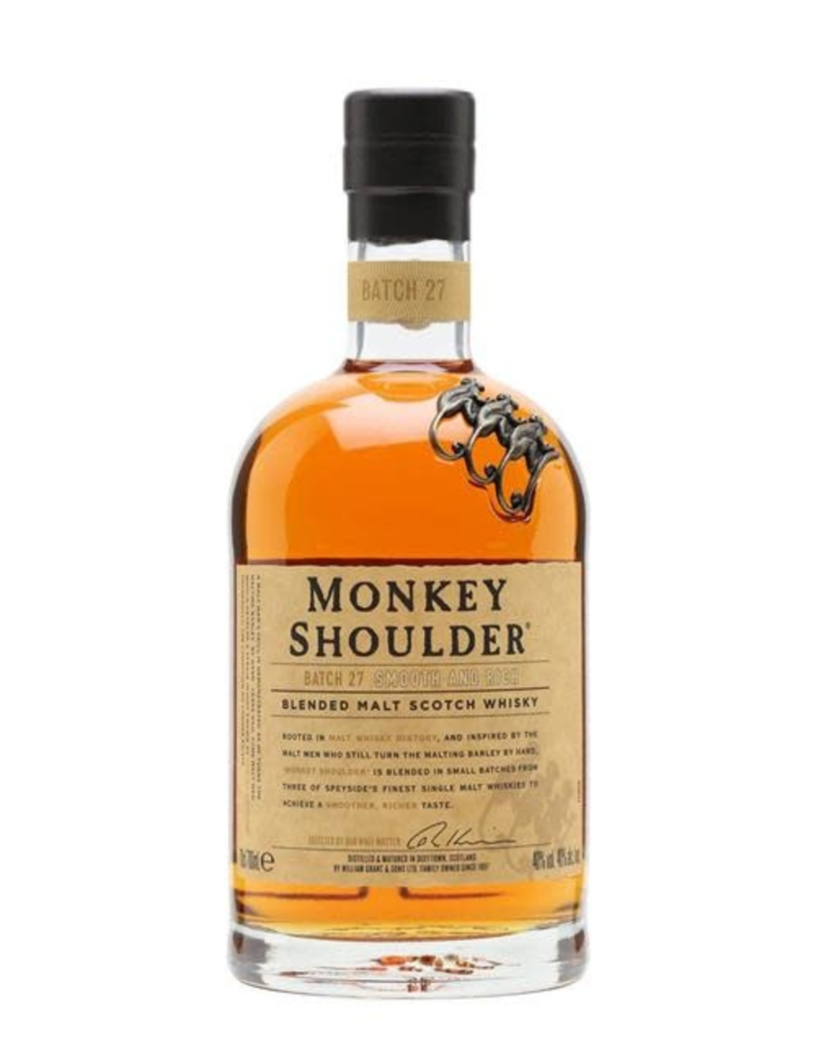 MONKEY SHOULDER BLENDED MALT SCOTCH 750ML
