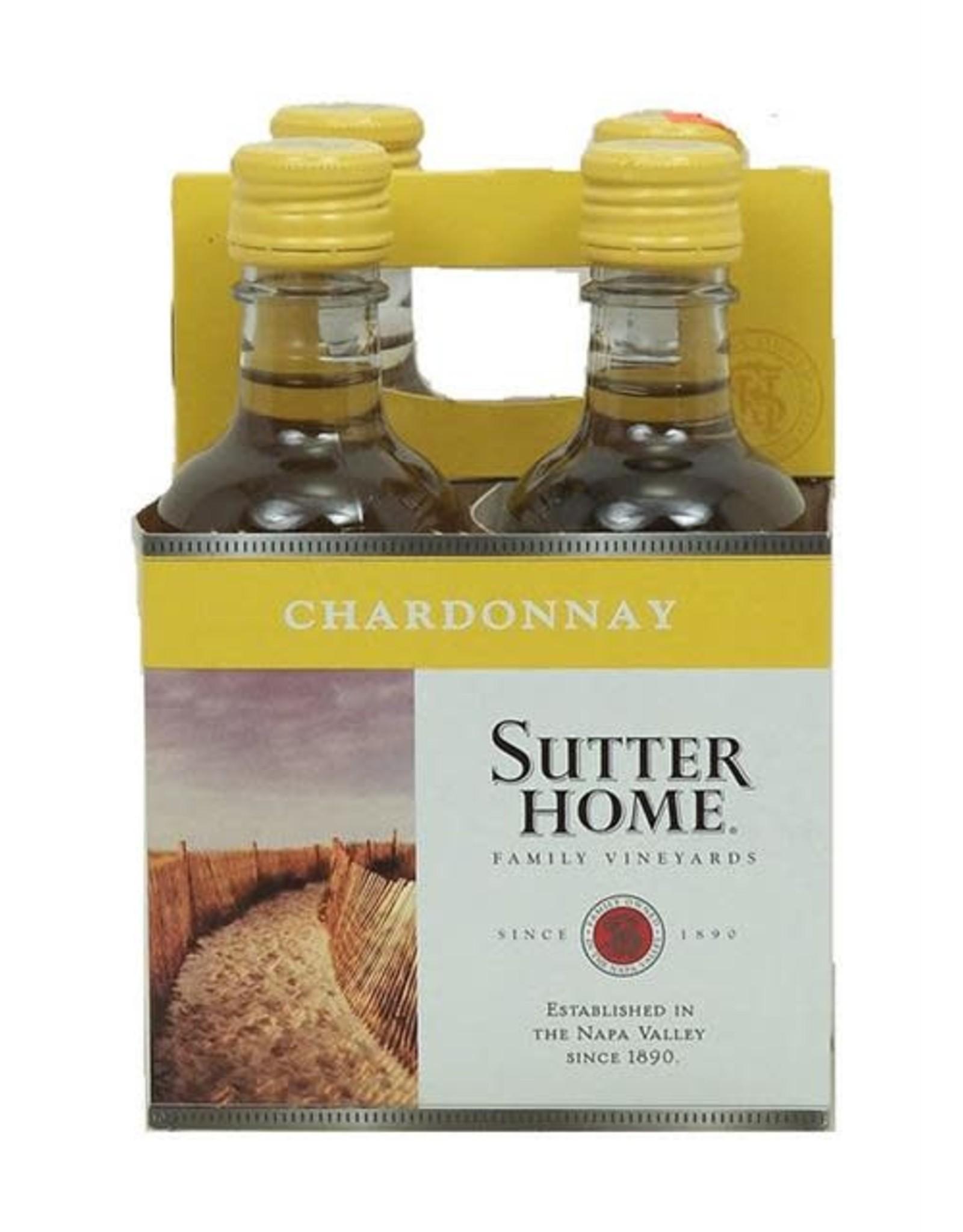 SUTTER HOME CHARDONNAY 4PK