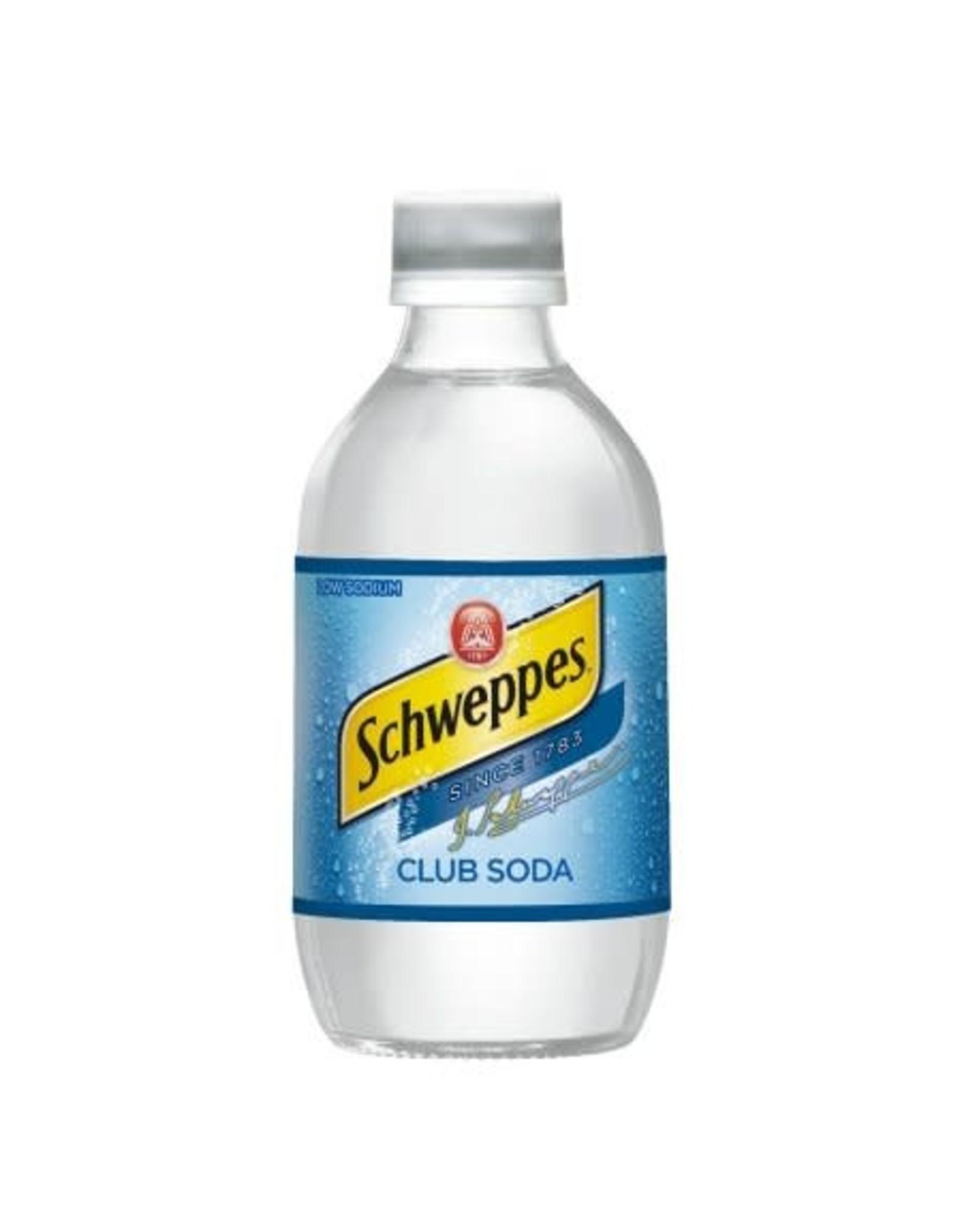 SCHWEPPES CLUB SODA 10OZ