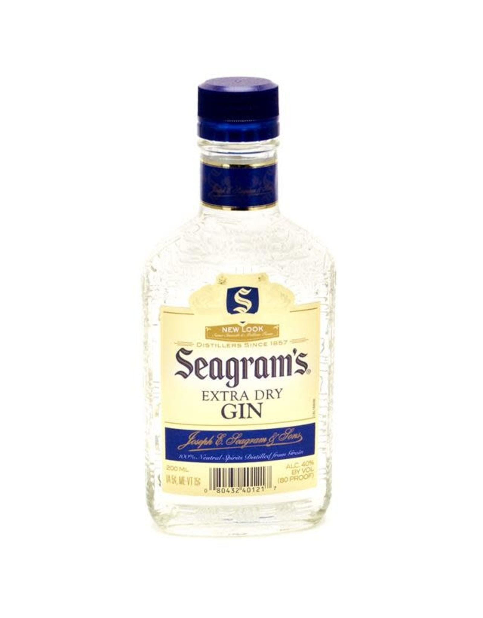 SEAGRAMS EXTRA DRY GIN 200ML