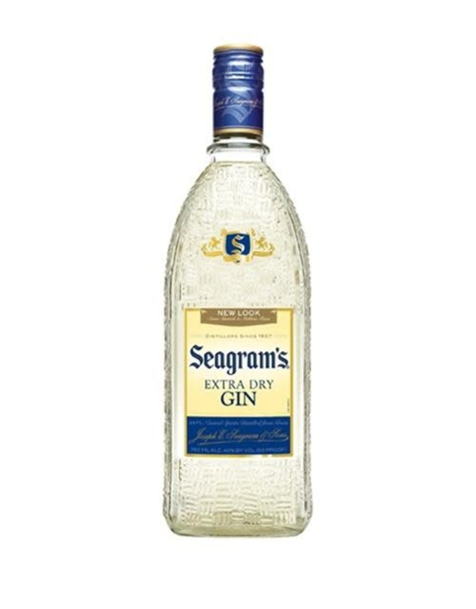 SEAGRAMS EXTRA DRY GIN 750M