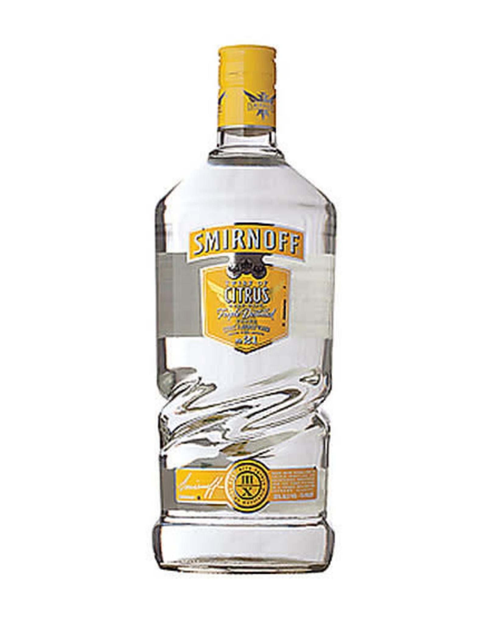 SMIRNOFF CITRUS VODKA 1.75L