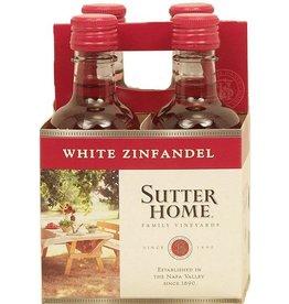 SUTTER HOME WHITE ZINFANDEL 4PK