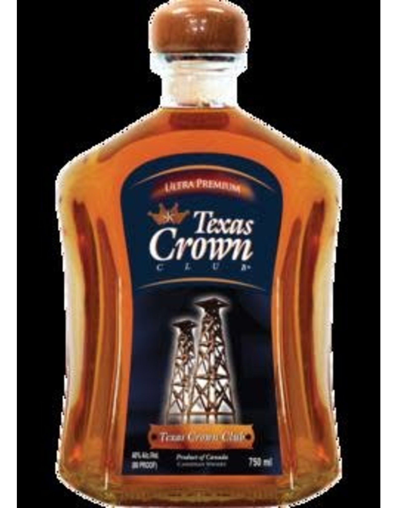 TEXAS CROWN CLUB CANADIAN WHISKY 750ML