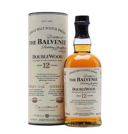 THE BALVENIE 12YR DOUBLEWOOD SCOTCH 750ML