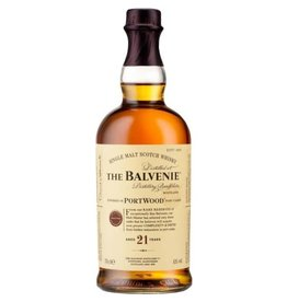 THE BALVENIE 21YR SCOTCH 750ML