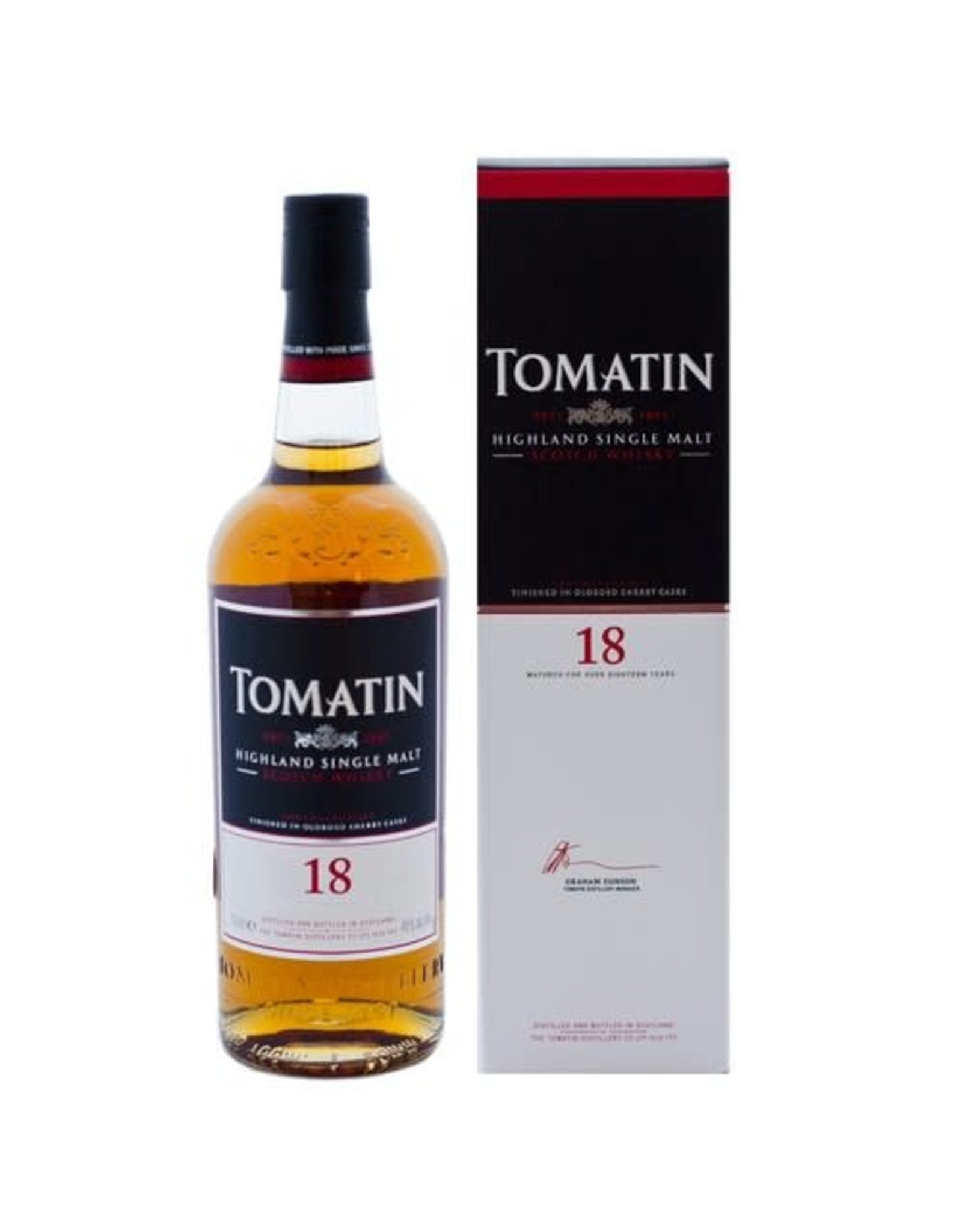 TOMATIN 18 YEAR OLD SCOTCH WHISKY 750ML
