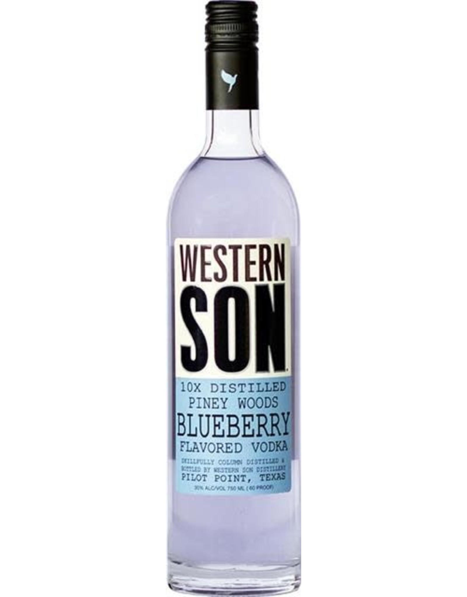 WESTERN SON BLUEBERRY VODKA 50ML