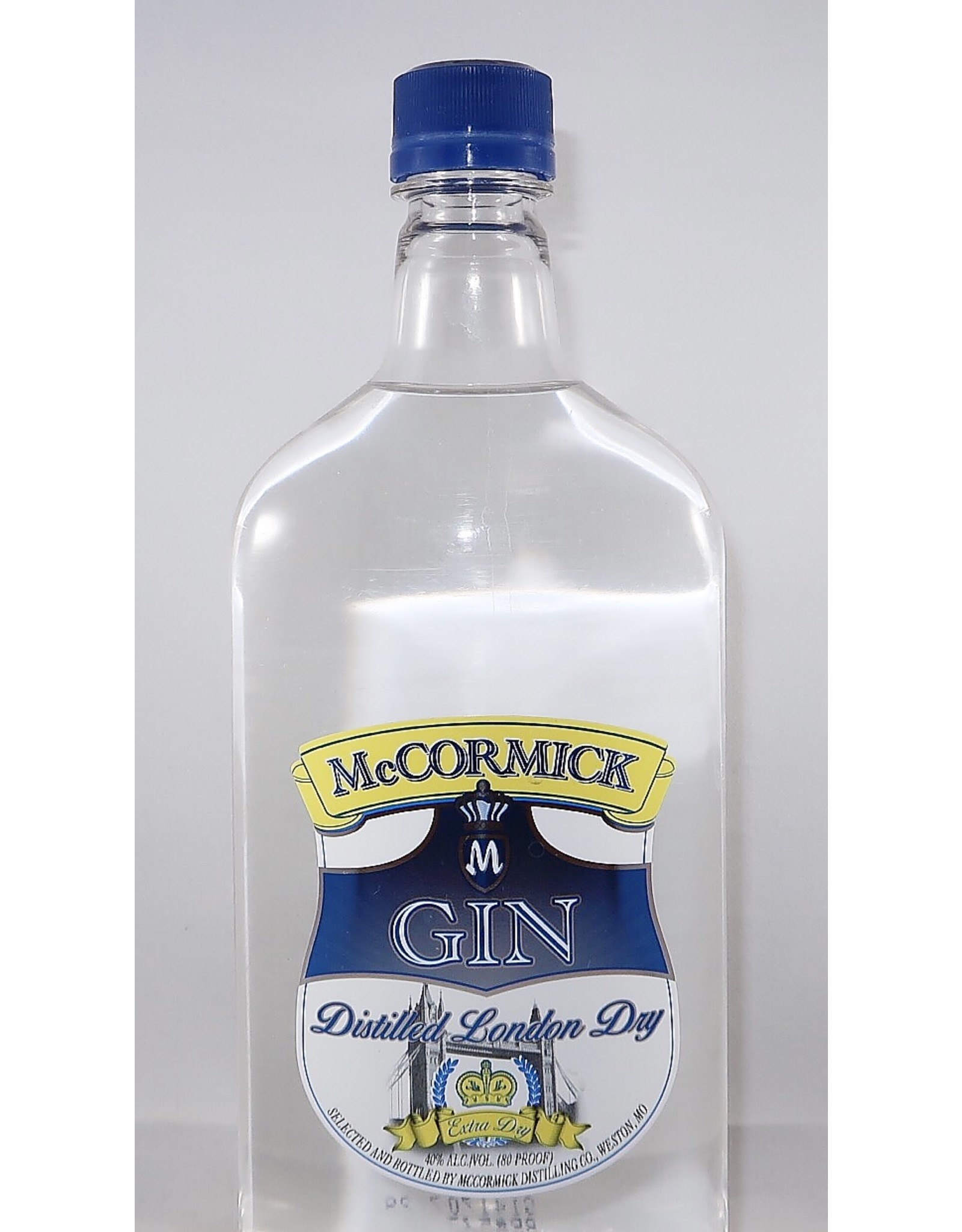 MCCORMICK EXTRA DRY GIN 750ml