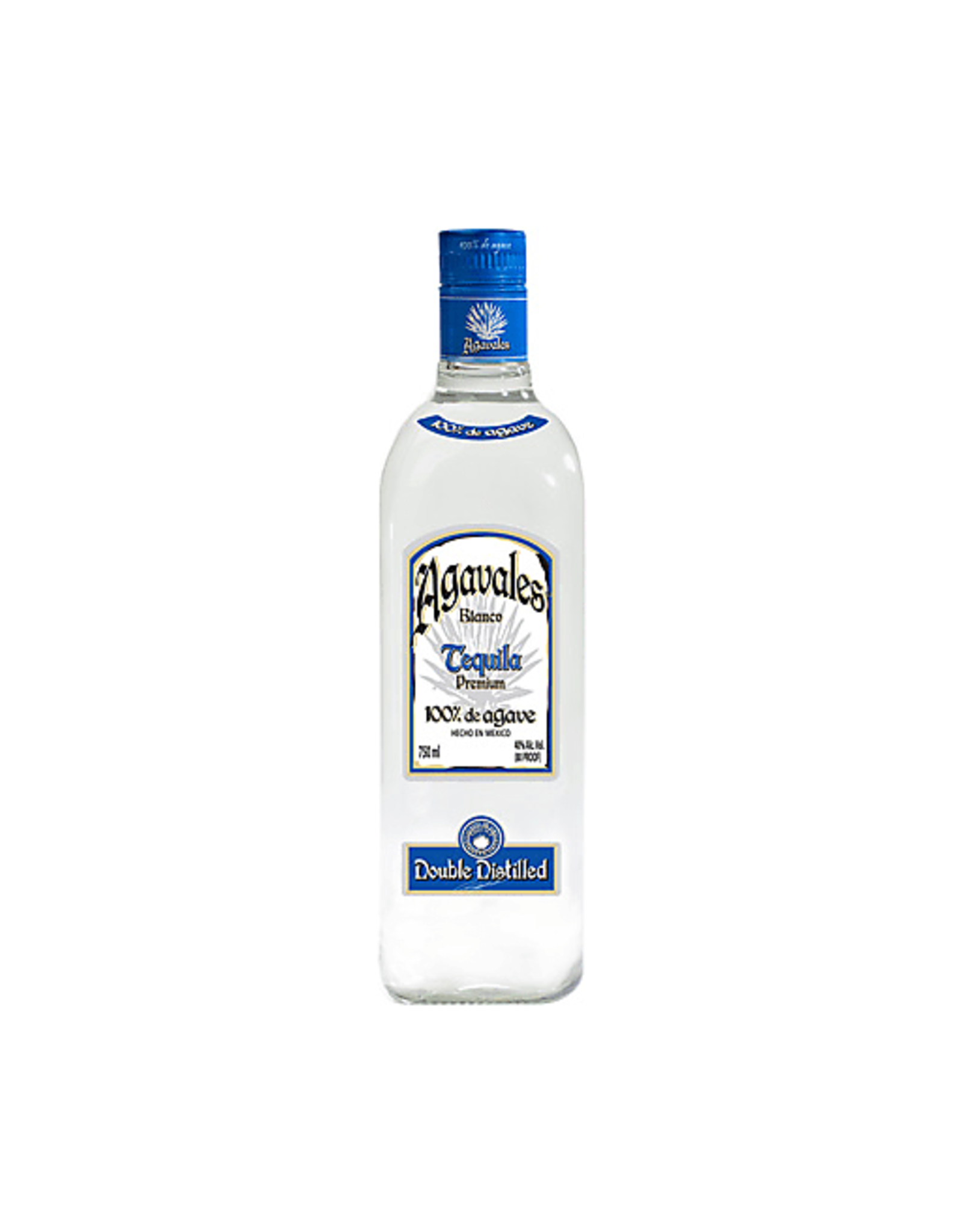 AGAVALES SILVER TEQUILA 750ML