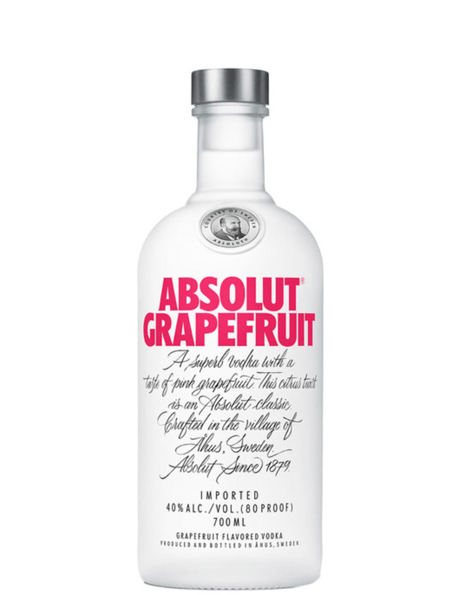 ABSOLUT GRAPEFRUIT 750 ML