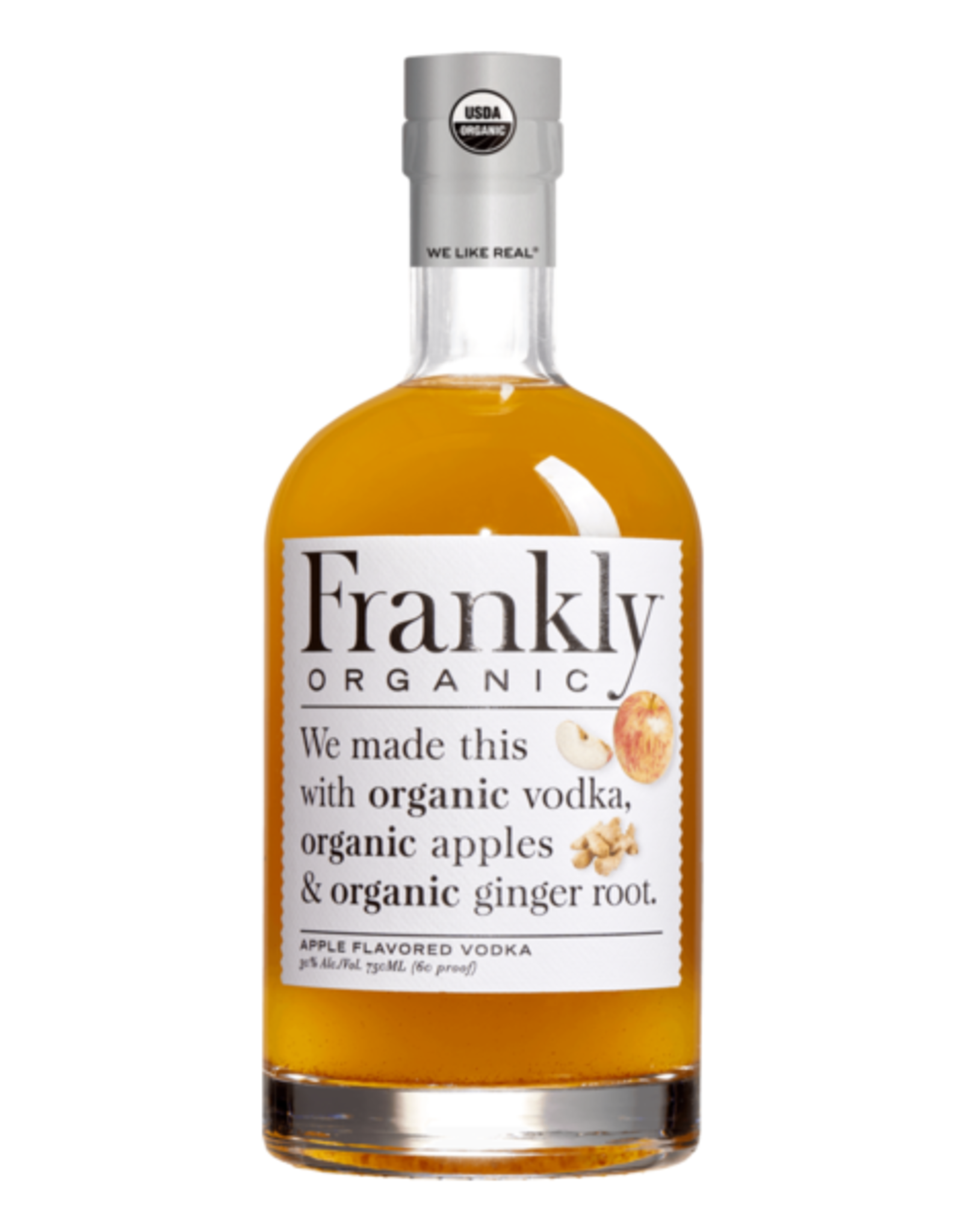 Frankly Vodka Apple 750ml