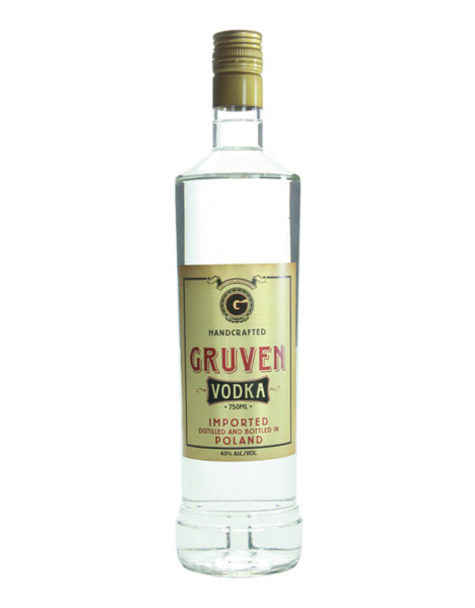 GRUVEN POLISH POTATO VODKA 750ML
