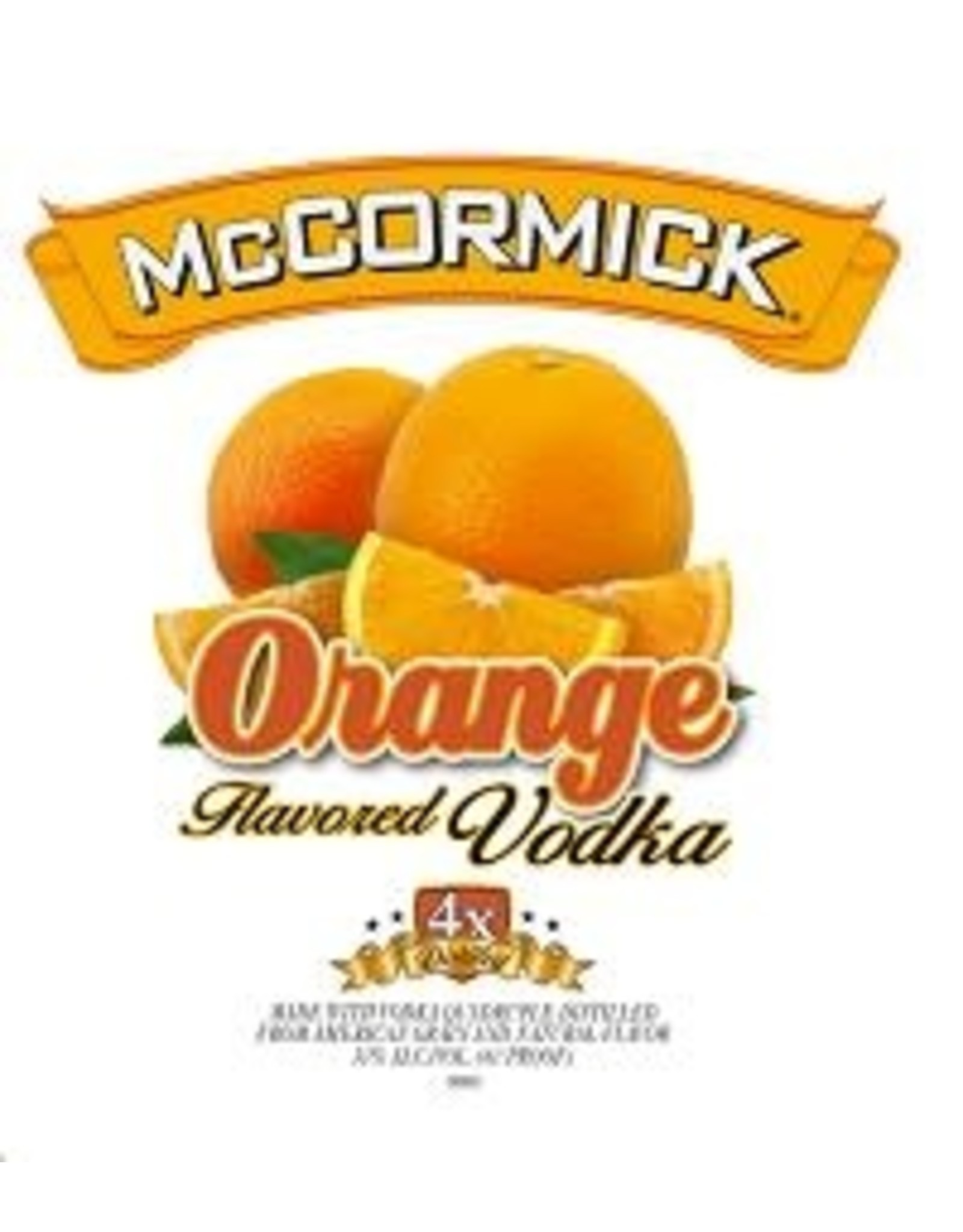 MCCORMICK ORANGE VODKA 1.75L