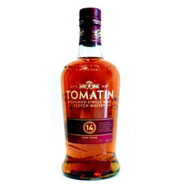 TOMATIN 14YR PORT CASKS 750ML