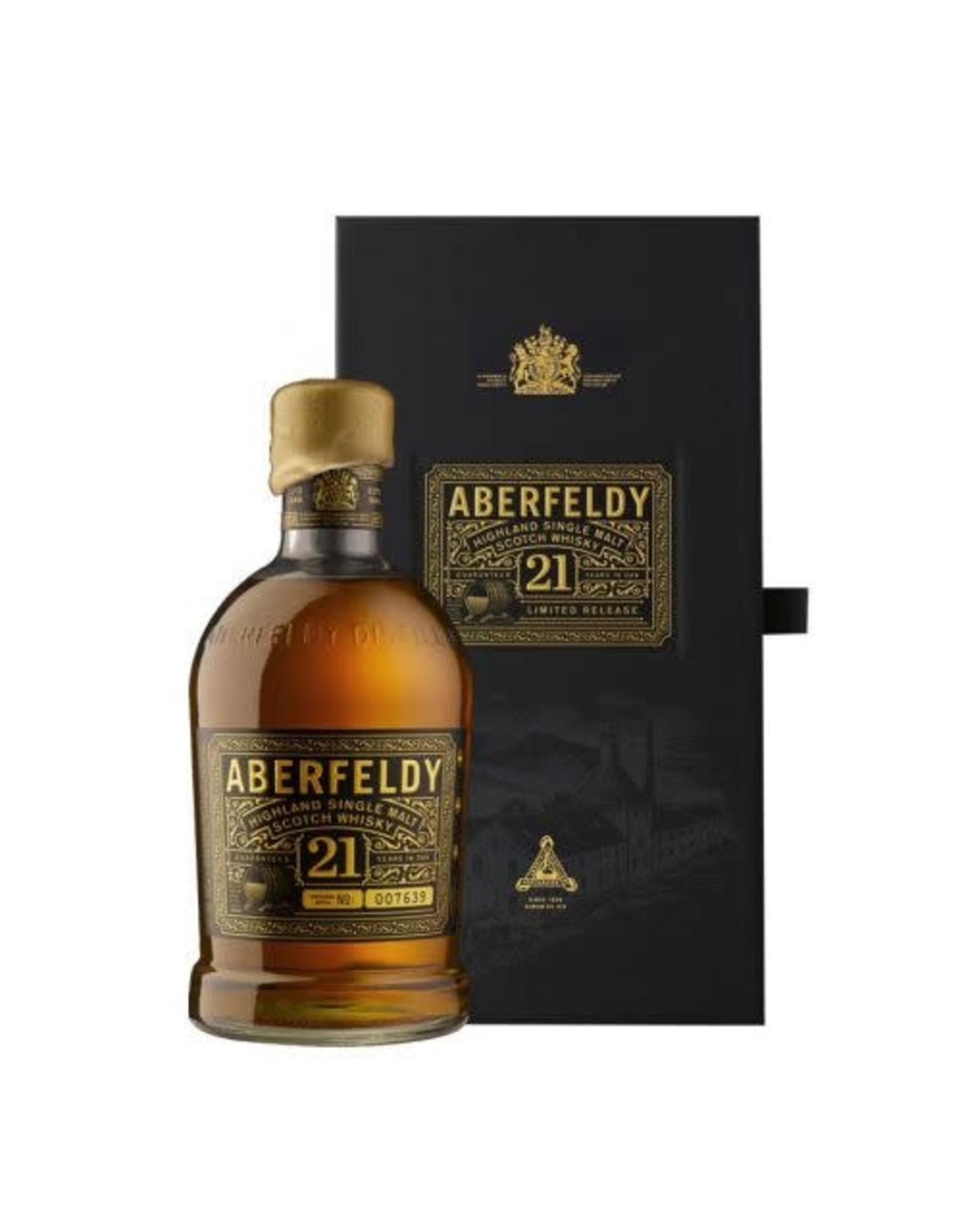 ABERFELDY 21Y SCOTCH 750ML
