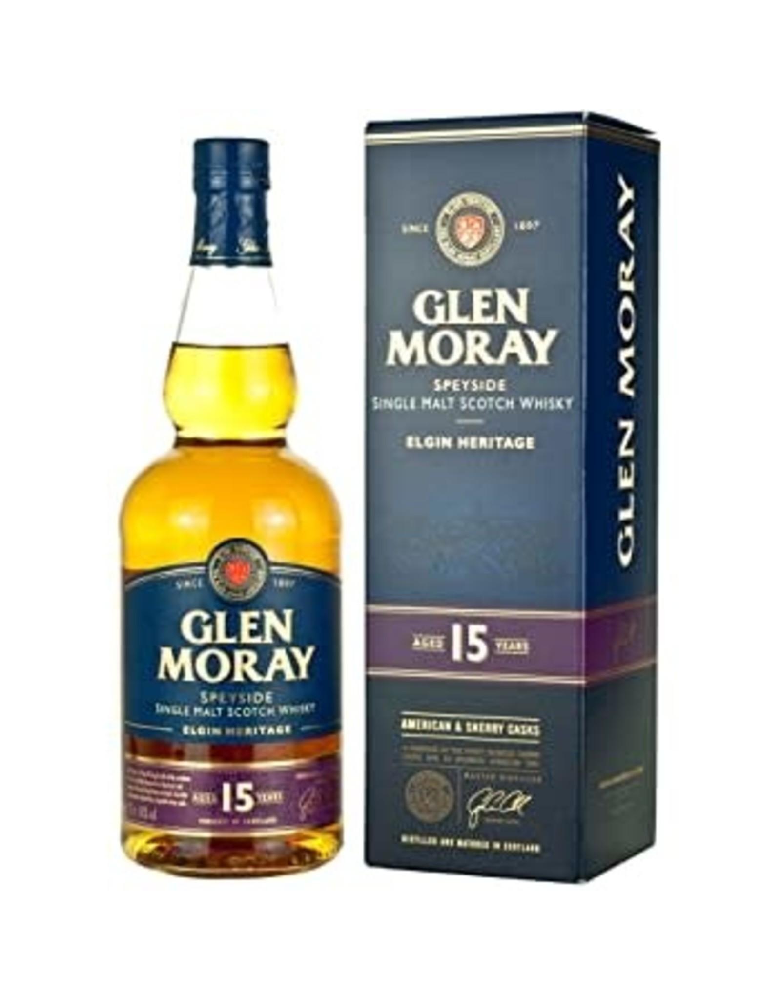 GLEN MORAY 15YR SCOTCH