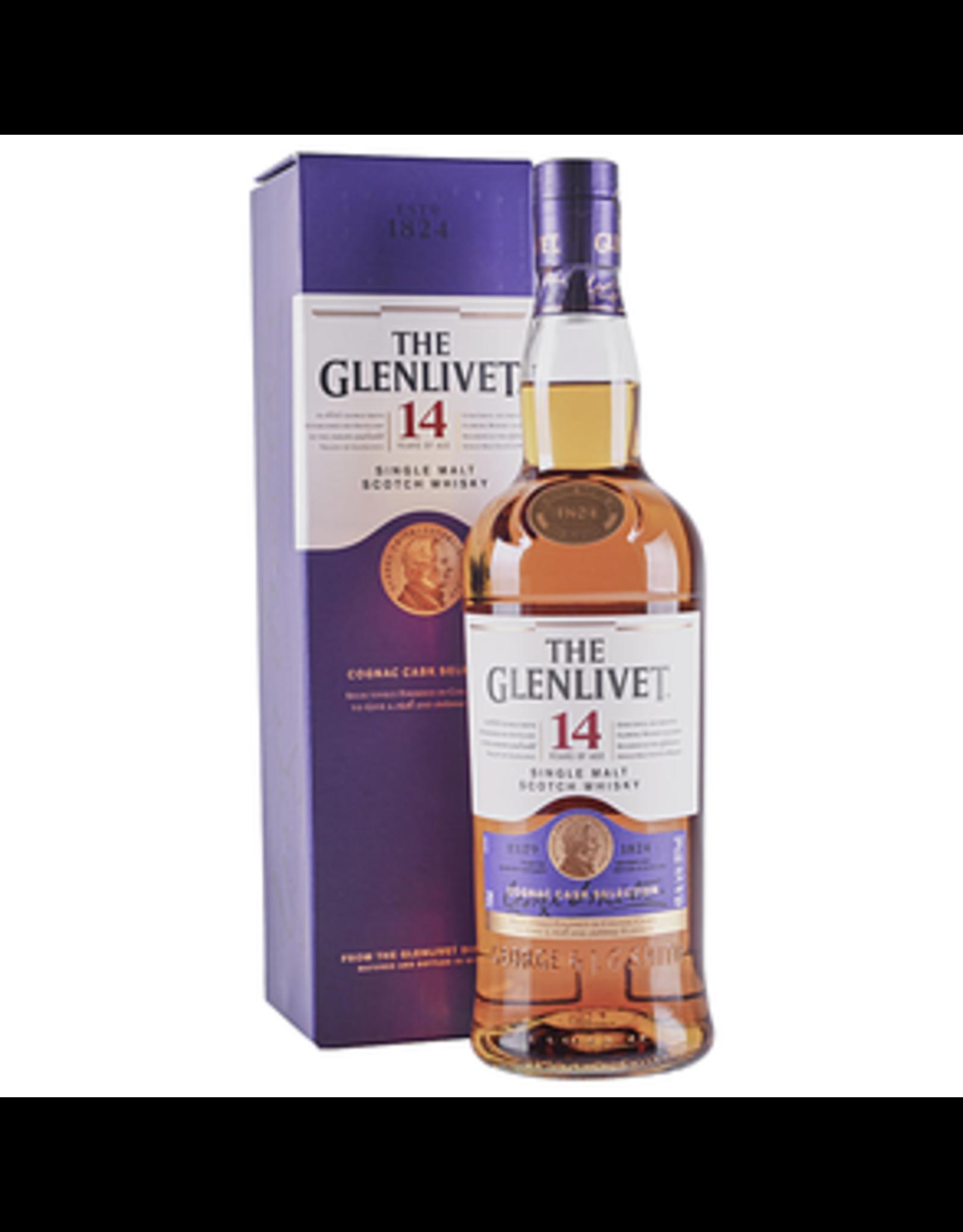 GLENLIVET 14YR 750ml