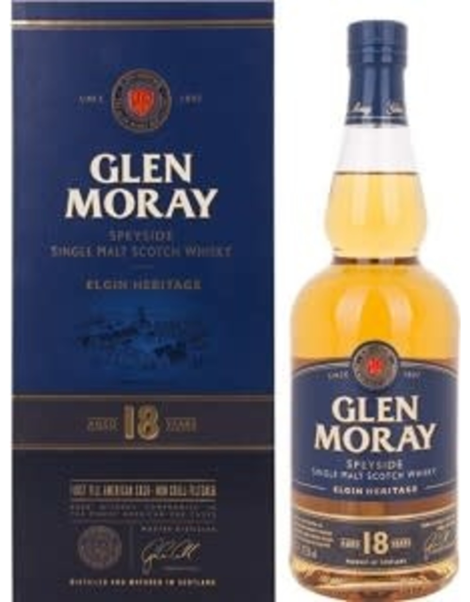 GLEN MORAY 18YR 750ML