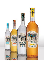 PAINTED DONKEY TEQUILA BLANCO 750ML