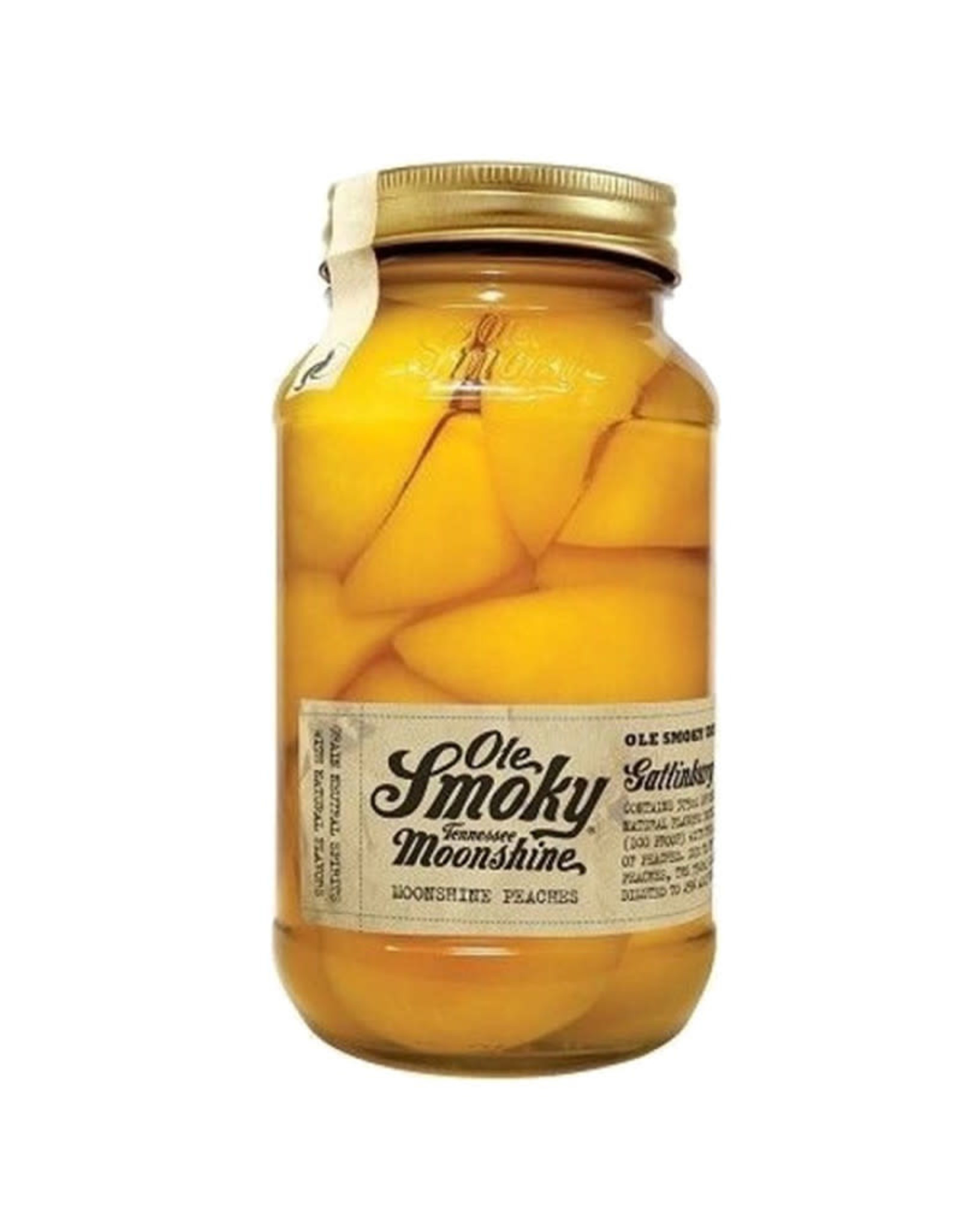 OLE SMOKY MONSHINE PEACHES 750ML