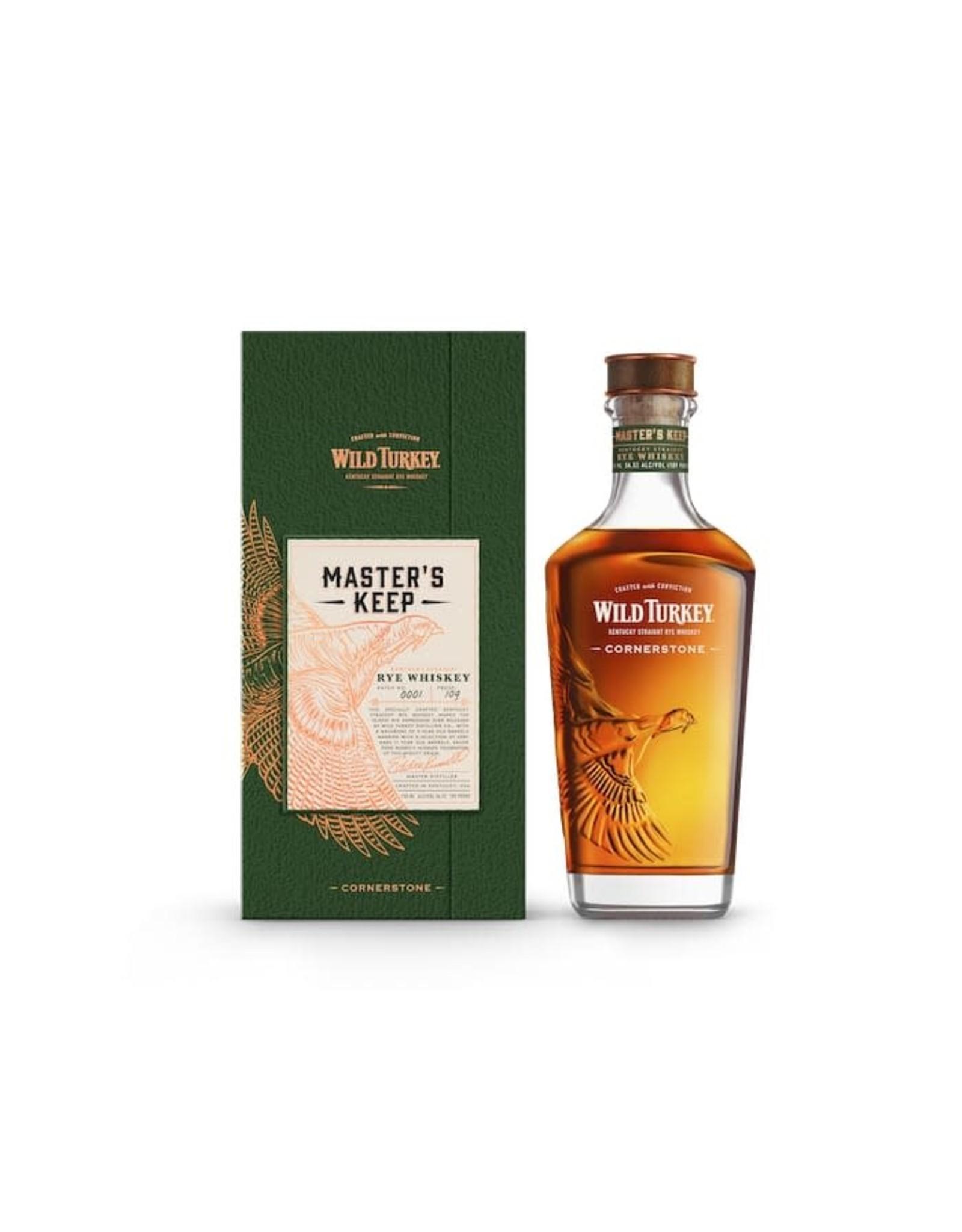 WILD TURKEY MASTERS KEEP CORNERSTON 750ML