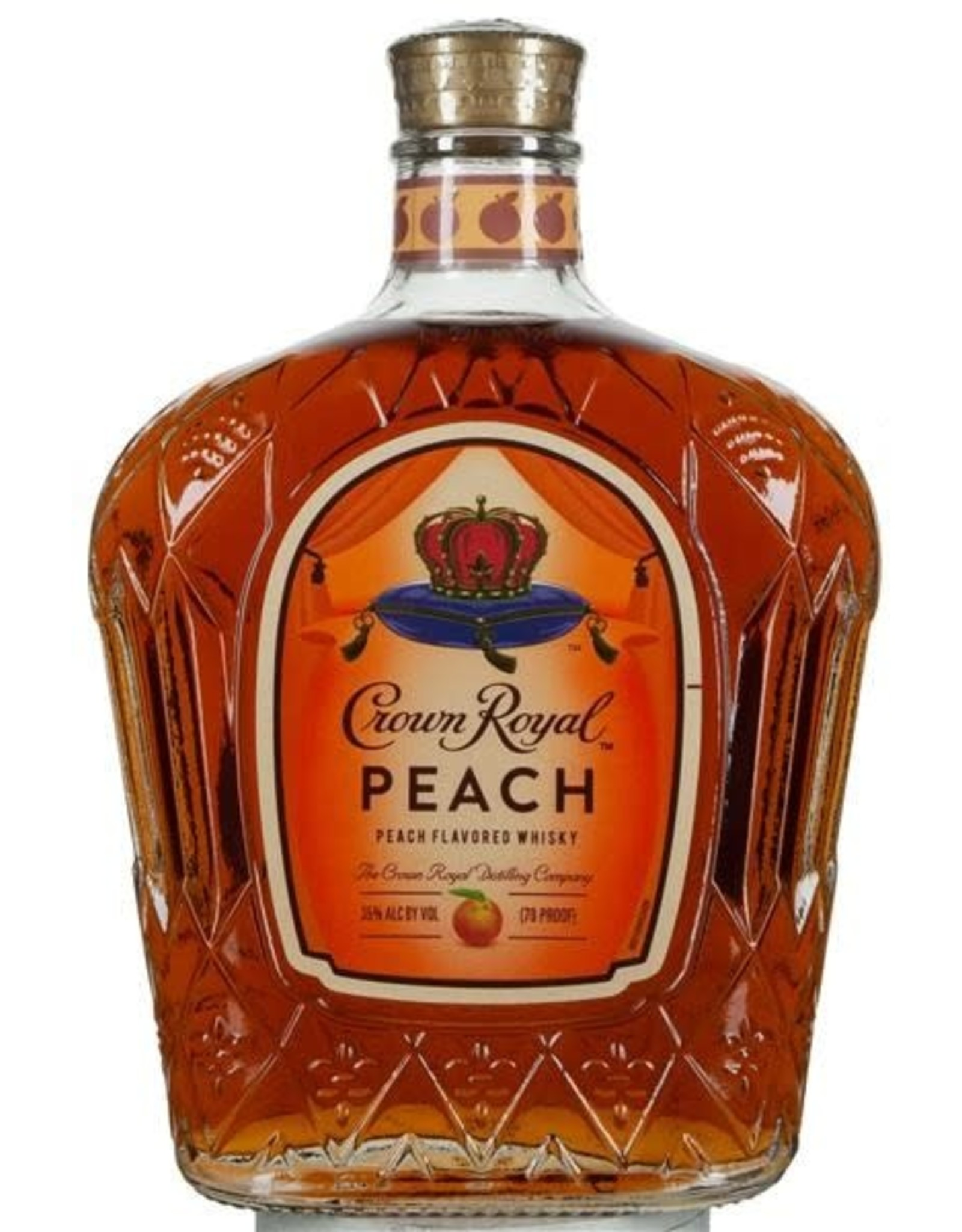 CROWN ROYAL PEACH 750ML