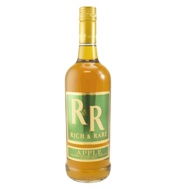 RICH AND RARE APPLE CANADIAN WHISKY 750ML