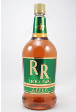 RICH & RARE  APPLE  CANADIAN WHISKEY 1.75L